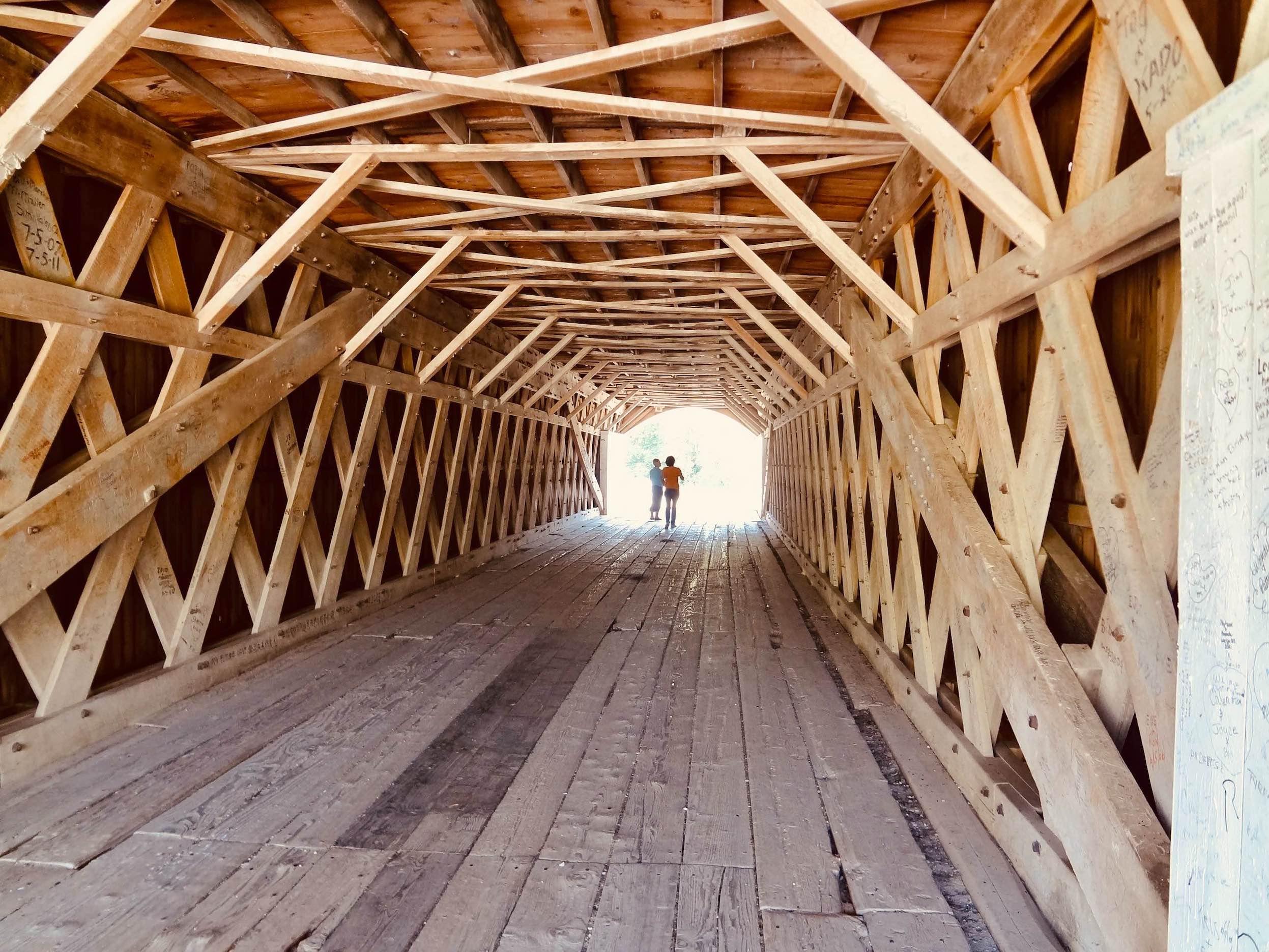 Cedar Covered Bridge Madison County Iowa.