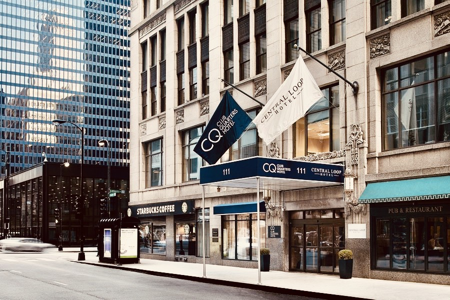 Central Loop Hotel Chicago.