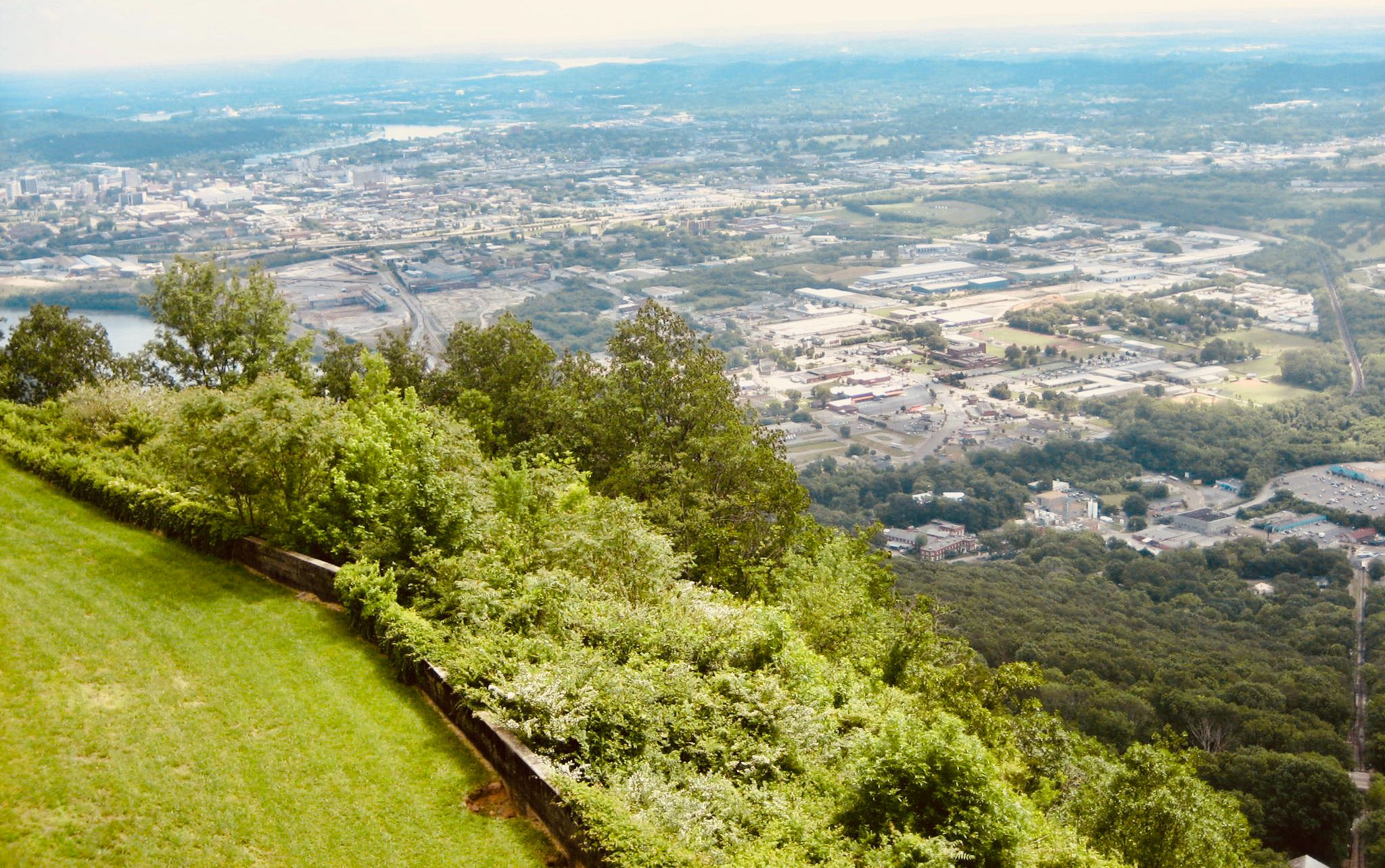 Chattanooga Nostalgia Climbing Lookout Mountain