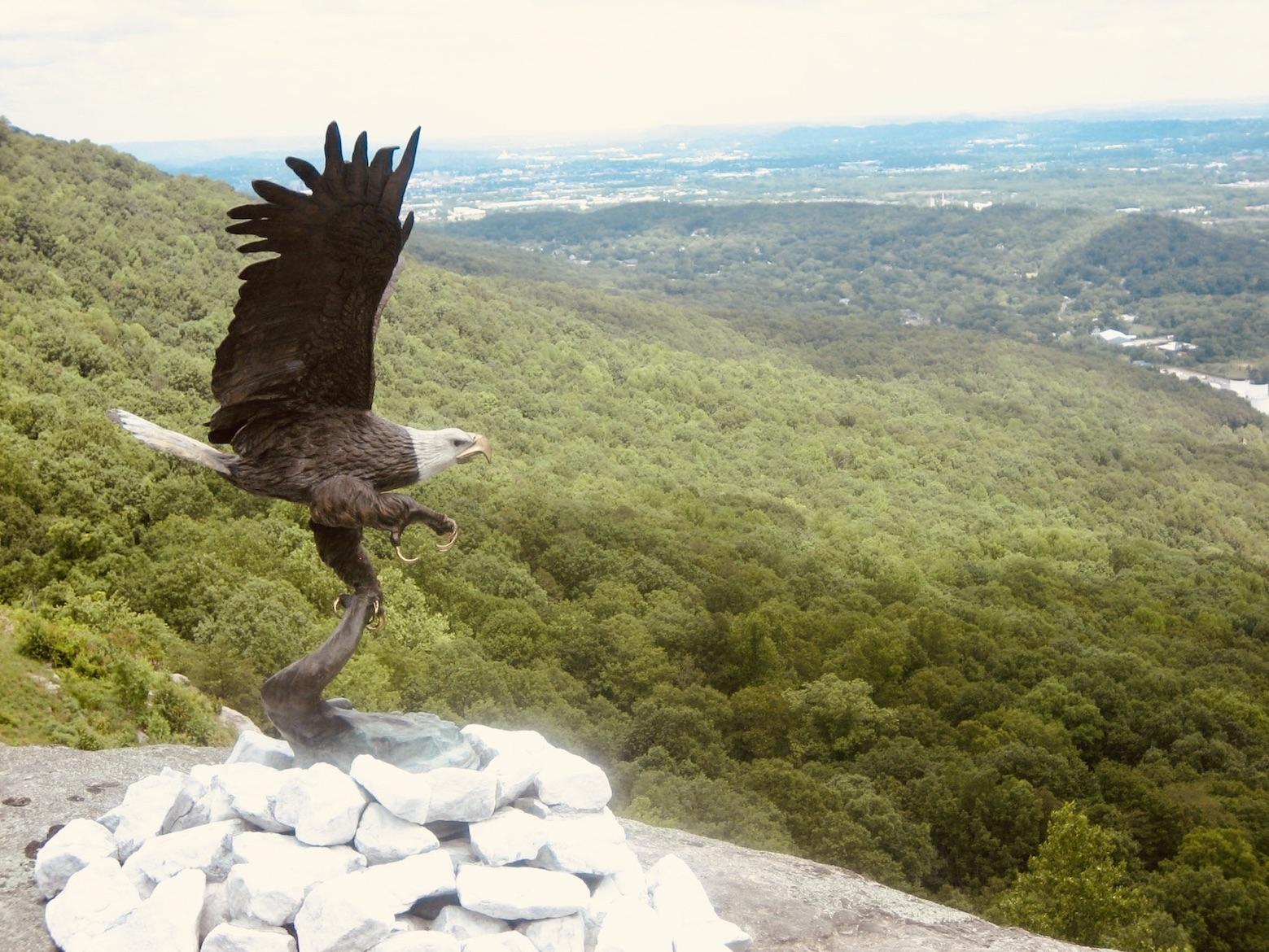 Chattanooga Nostalgia Eagle Statue Lookout Mountain