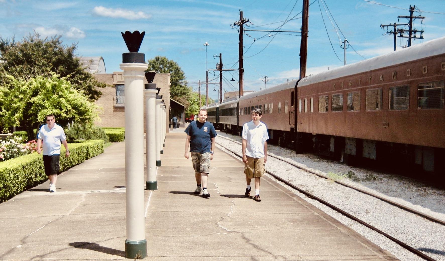 Chattanooga Nostalgia Restored Choo Choo railway car