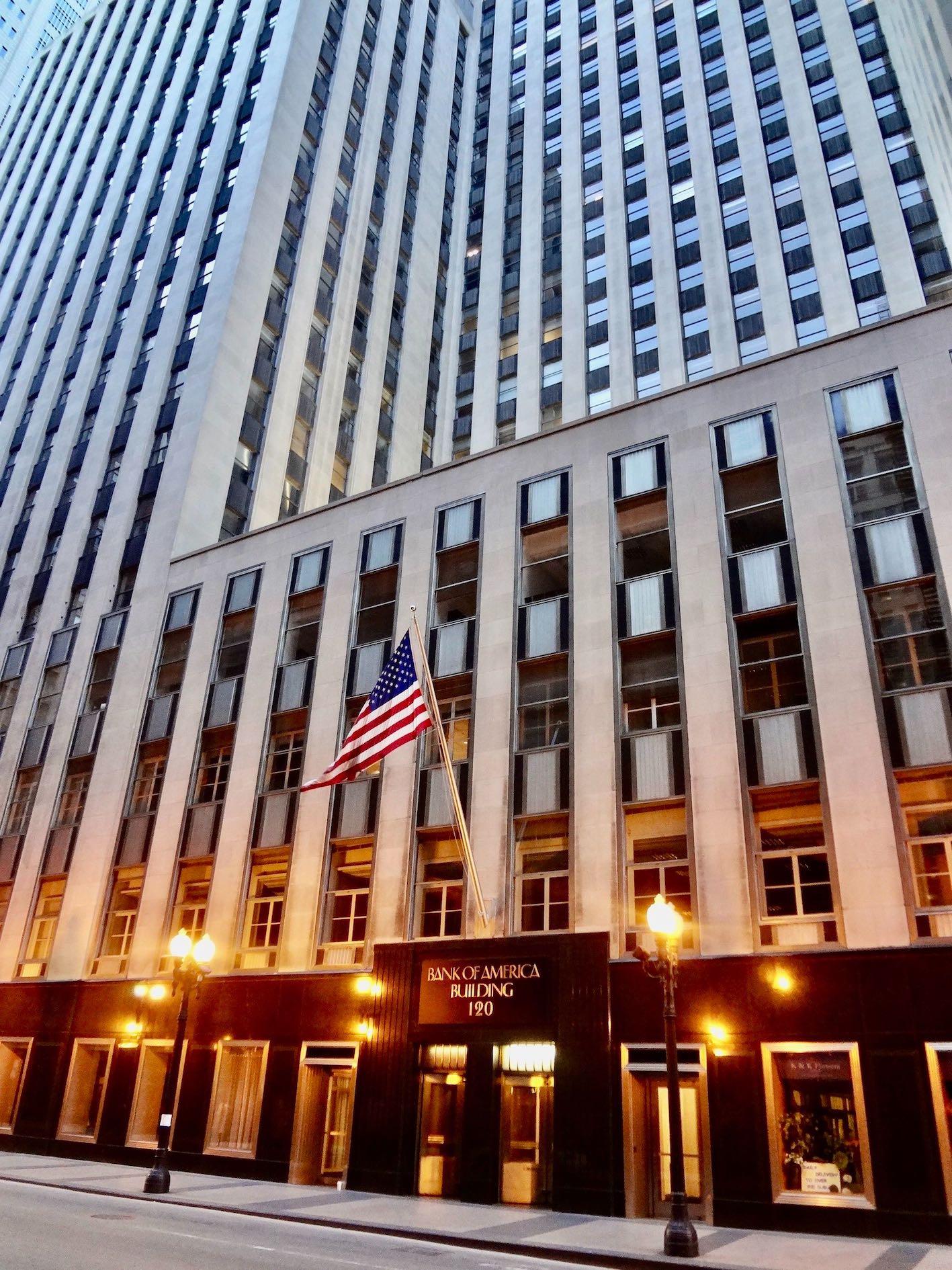 Chicago Nostalgia Bank of America Building