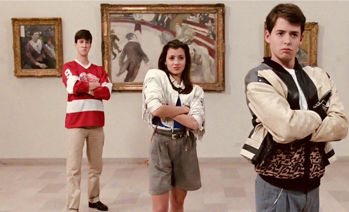 Chicago Nostalgia Ferris Bueller Art Institute scene