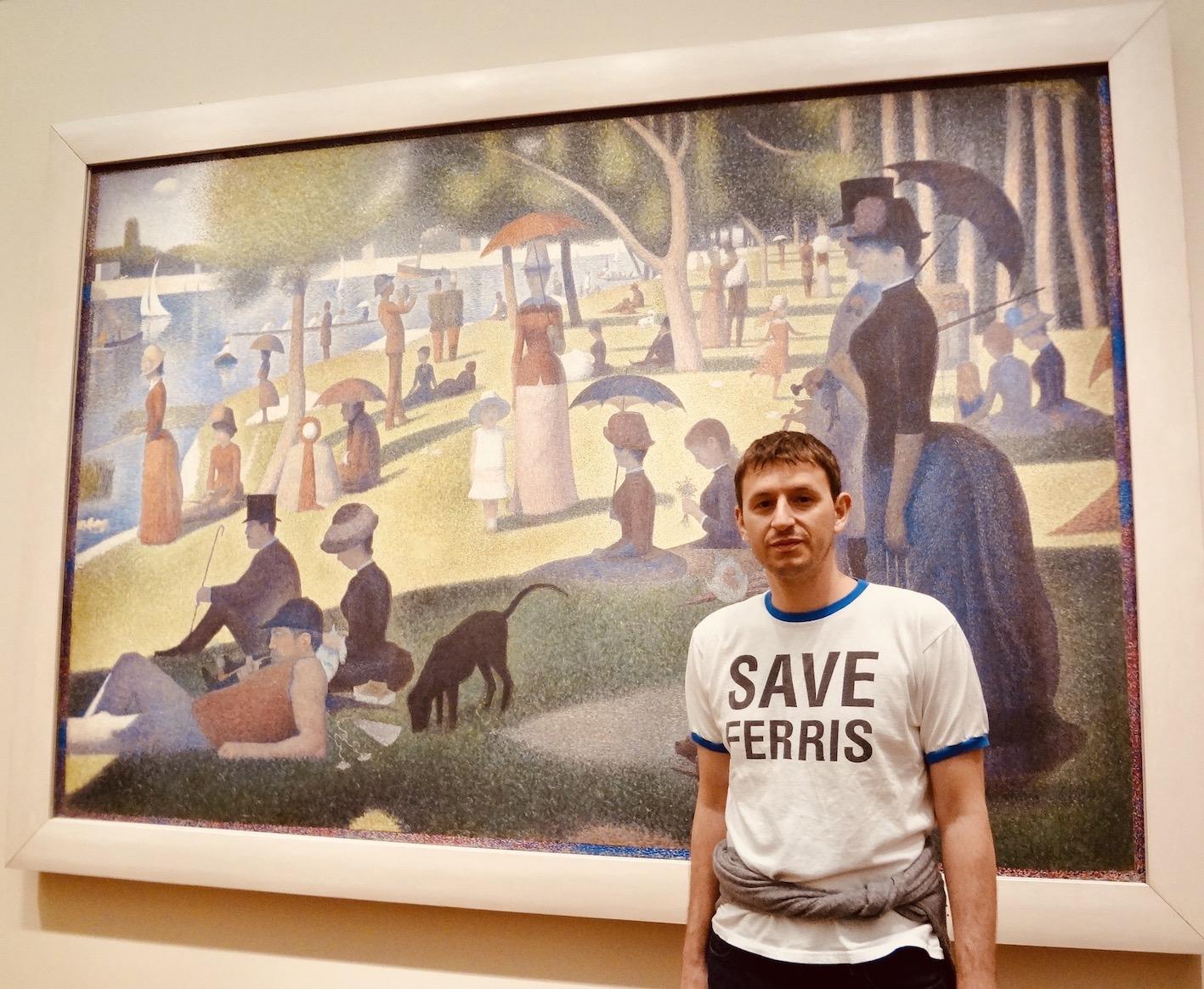 Chicago Nostalgia Ferris Bueller at The Art Institute