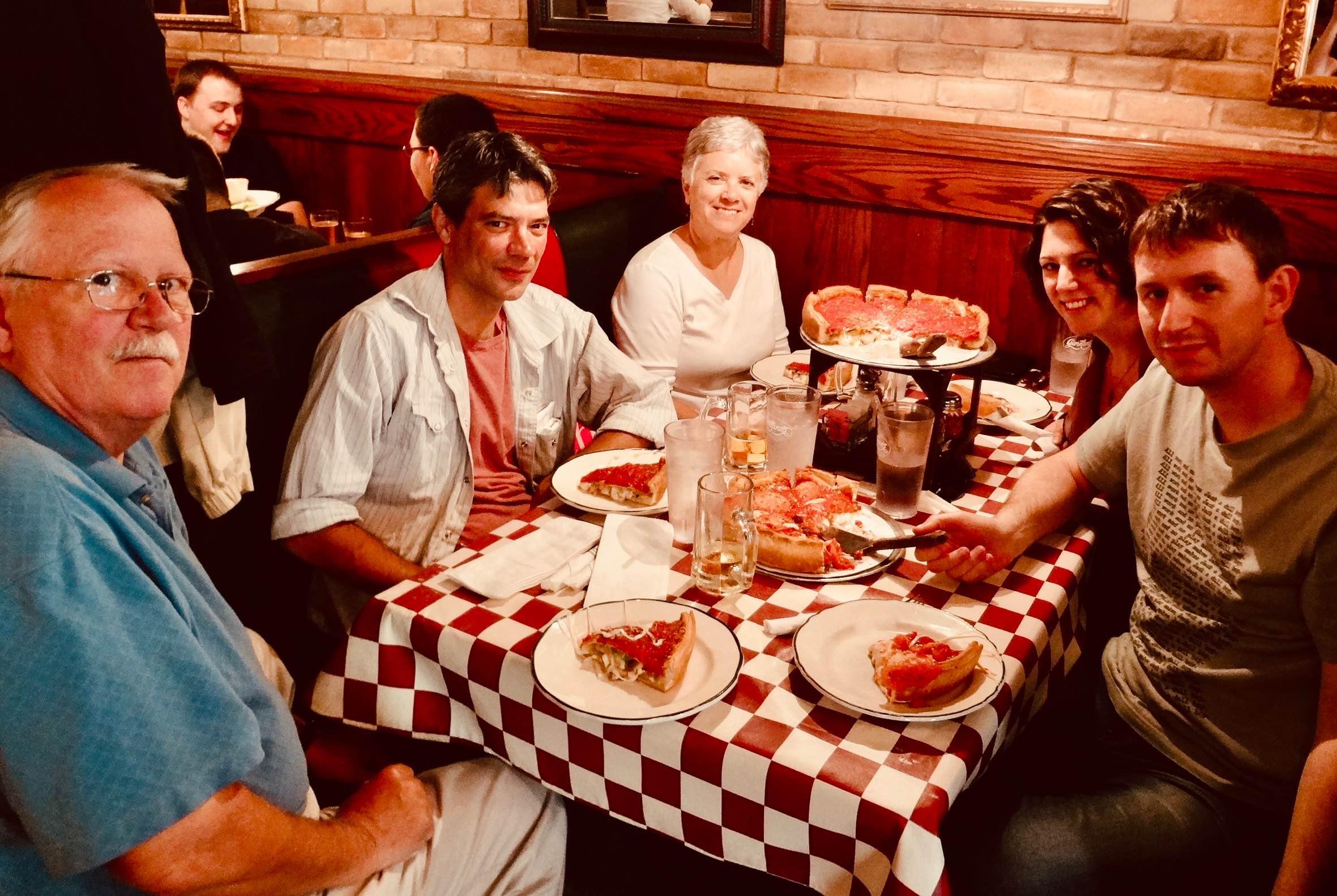 Chicago Nostalgia Giordano's Pizza.