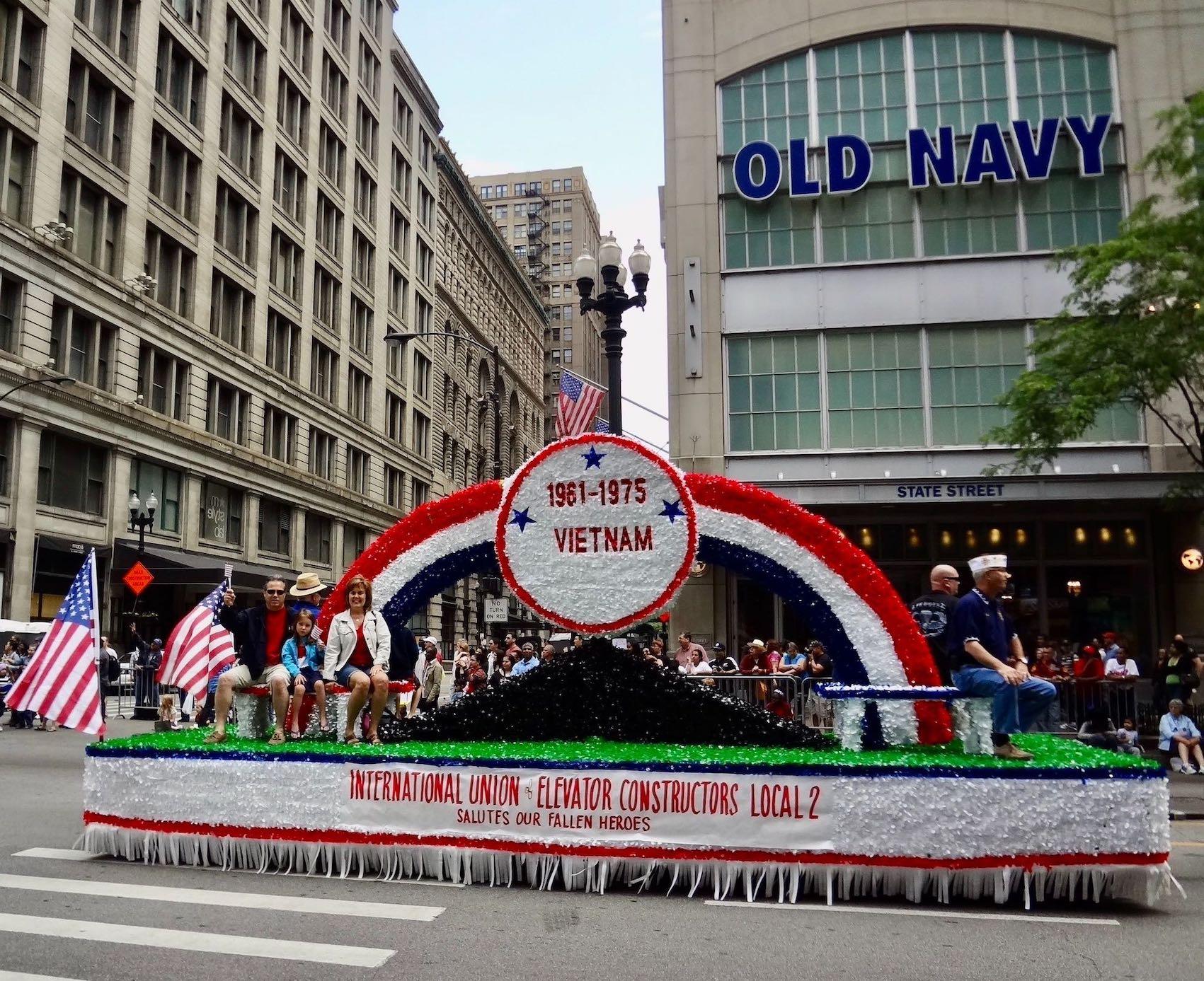 Chicago Nostalgia Memorial Day Parade 2012