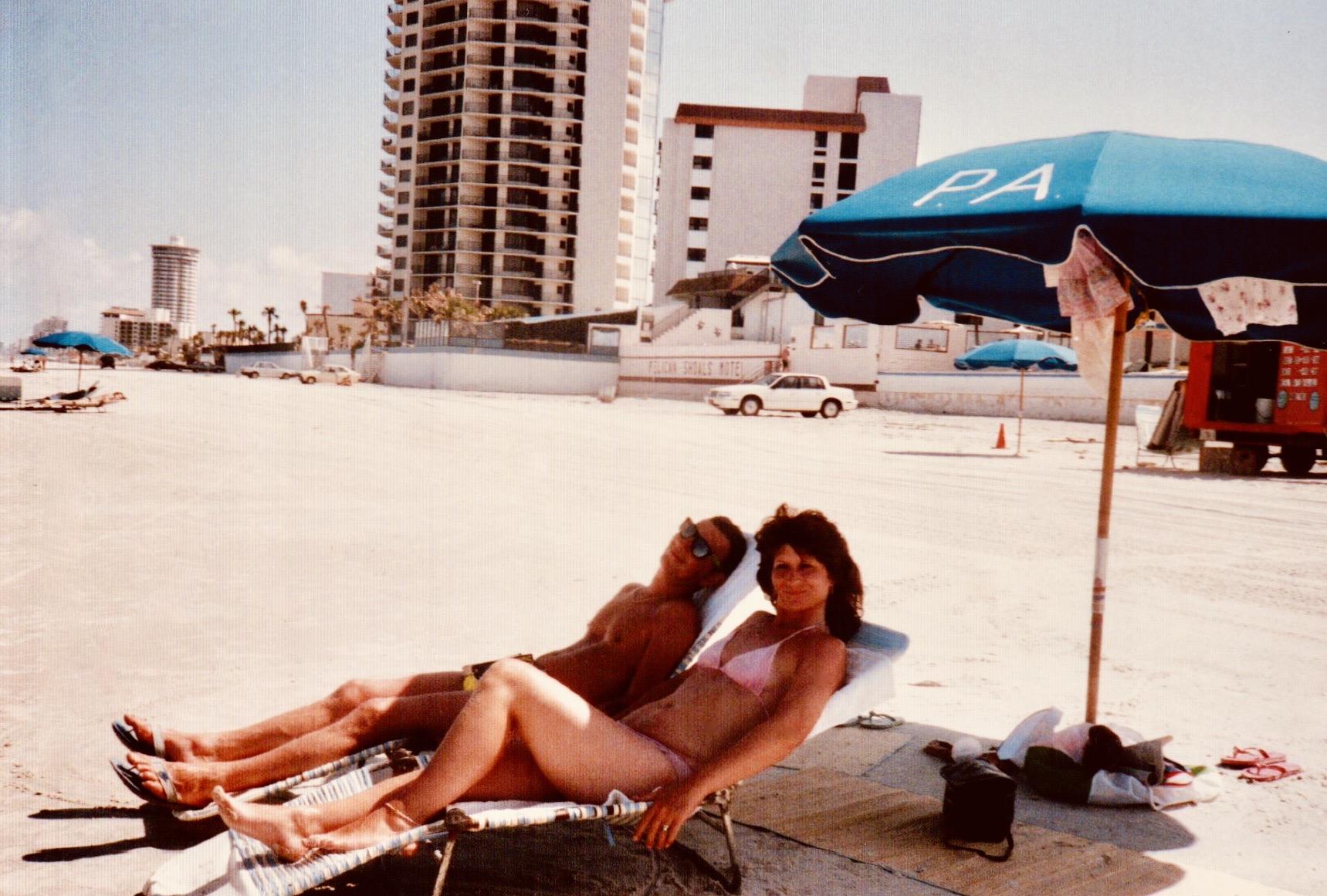 Clearwater Beach Florida 1989.