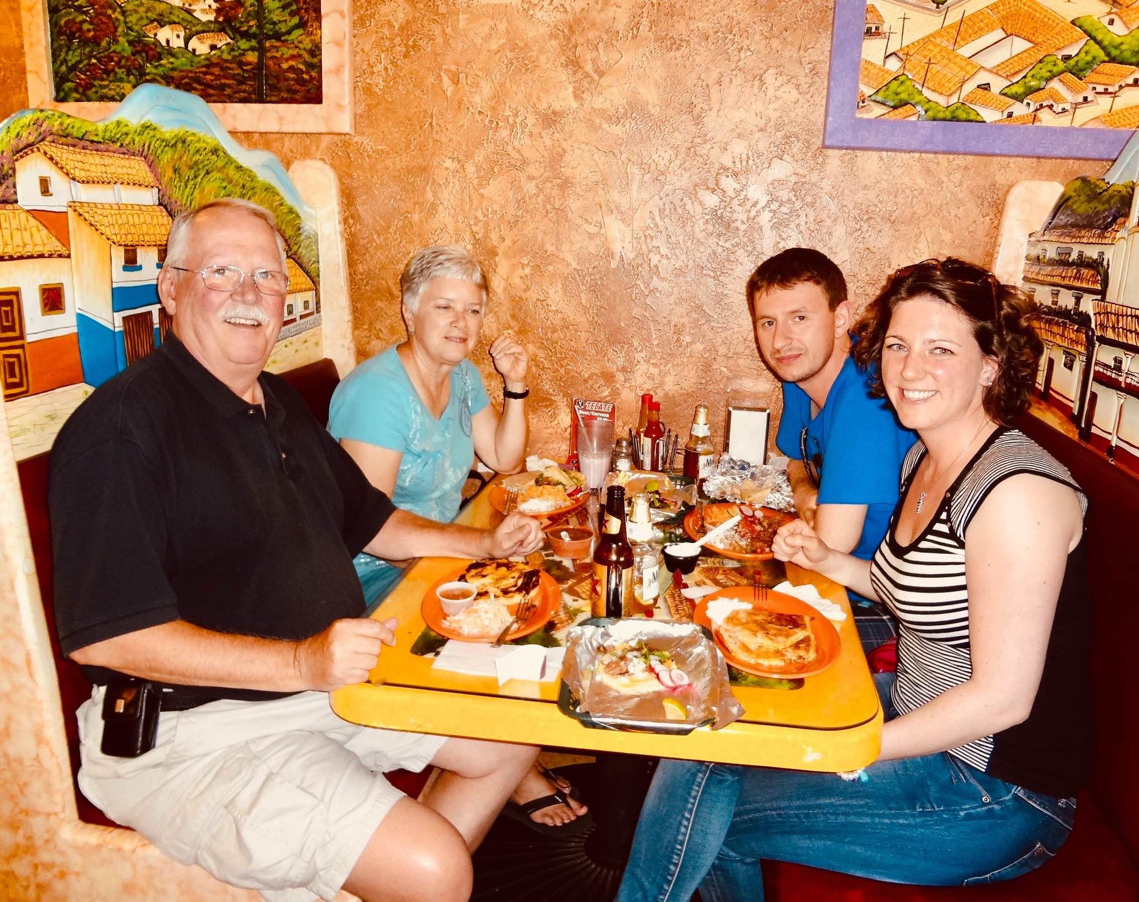 Dinner at Tacos Mariana's Restaurant Des Moines