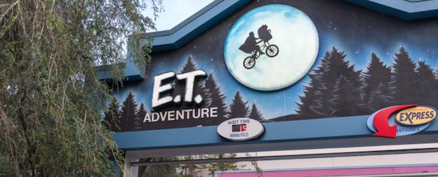 E.T. Adventure Ride Universal Studios.