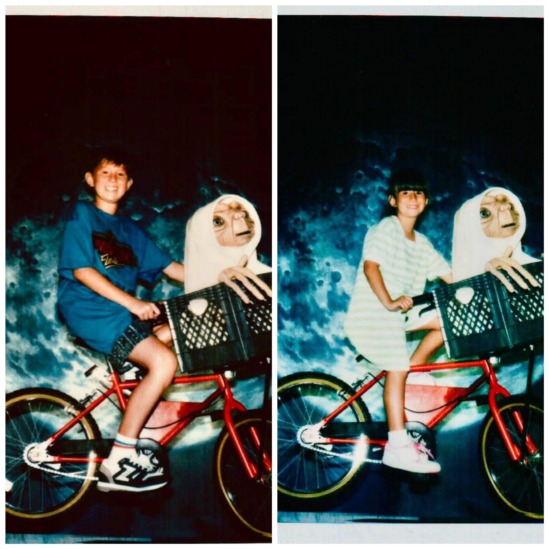 E.T. Adventure Ride Universal Studios Florida