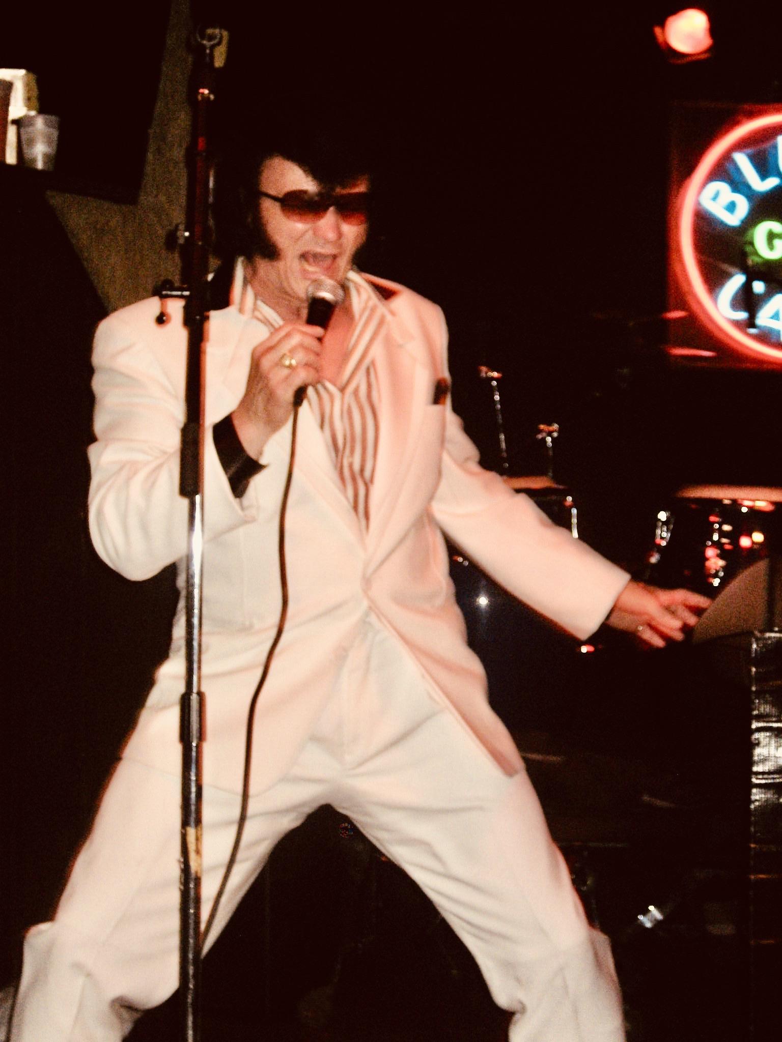 Elvis Priestly live at Blues City Cafe Memphis