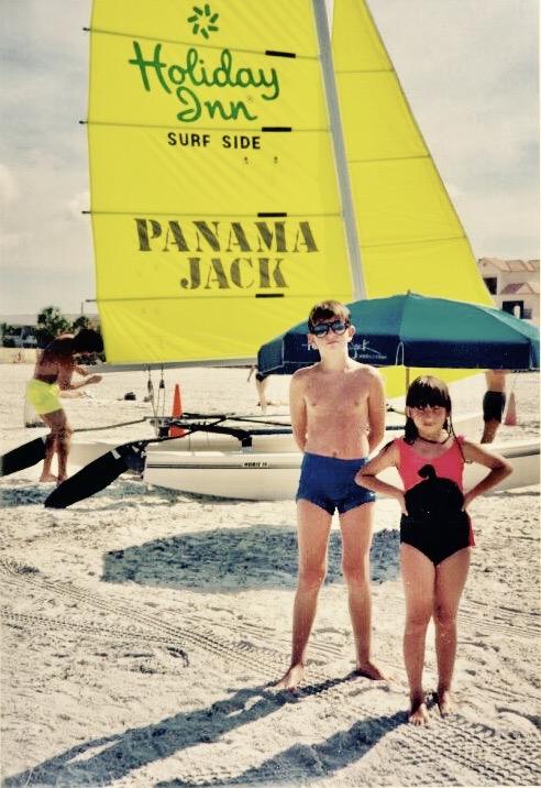 Florida Nostalgia Clearwater Beach 1989.