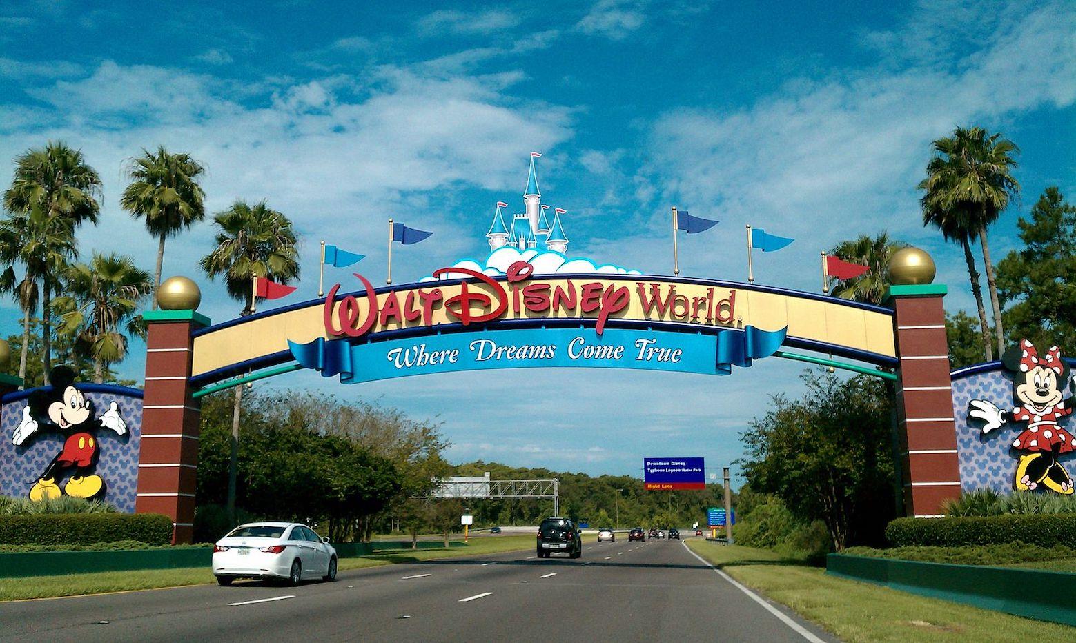 Florida Nostalgia Disney World.