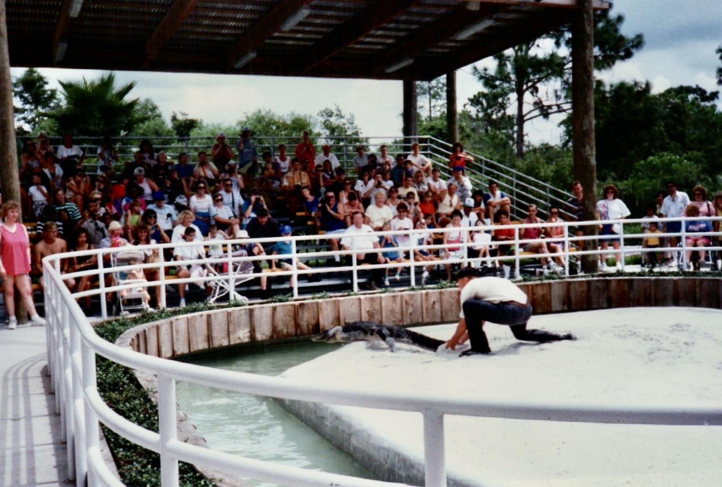 Florida Nostalgia Gatorland 1991.