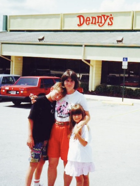 Florida Nostalgia breakfast at Denny's