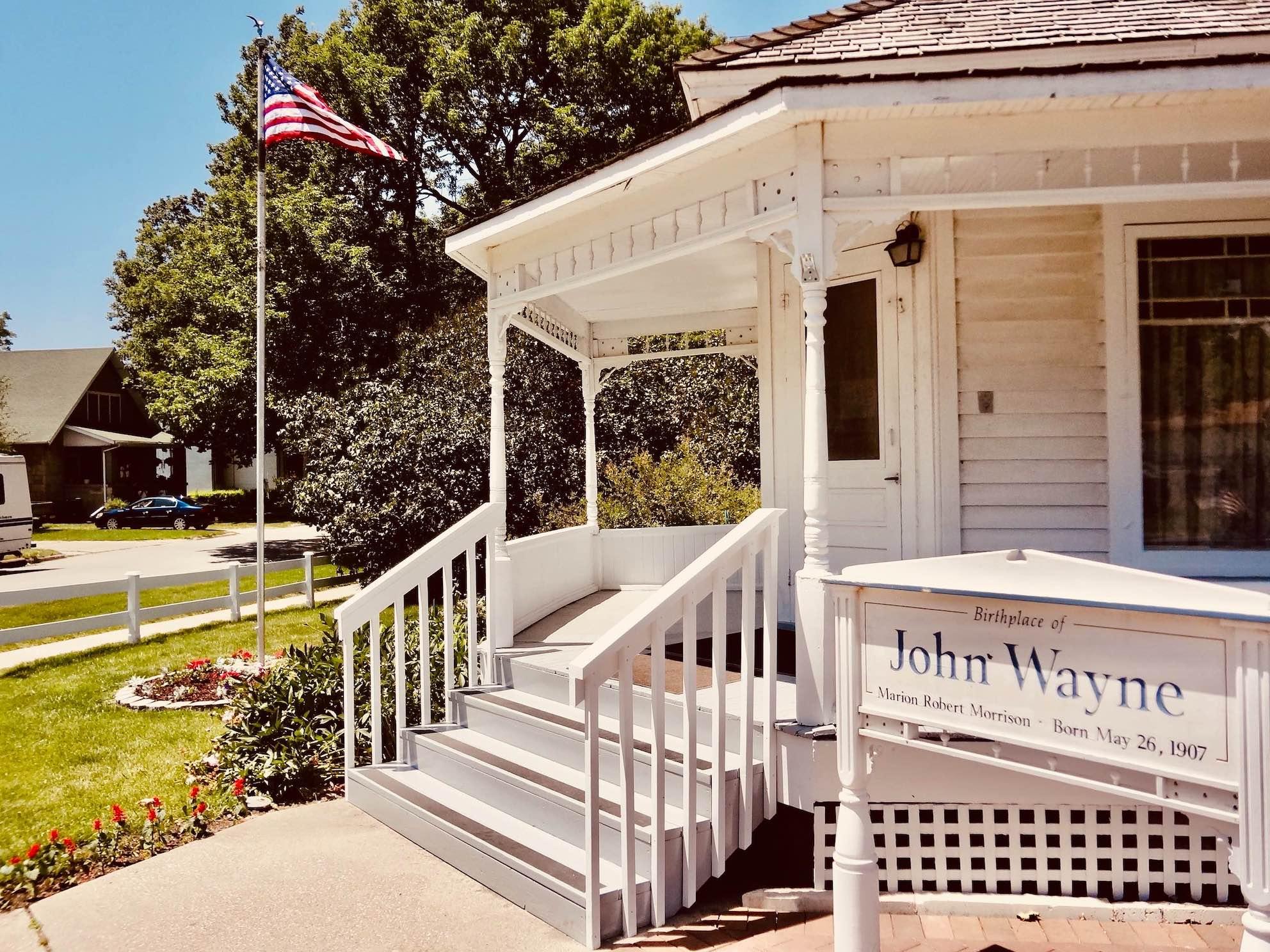Iowa Nostalgia John Wayne Birthplace and Museum