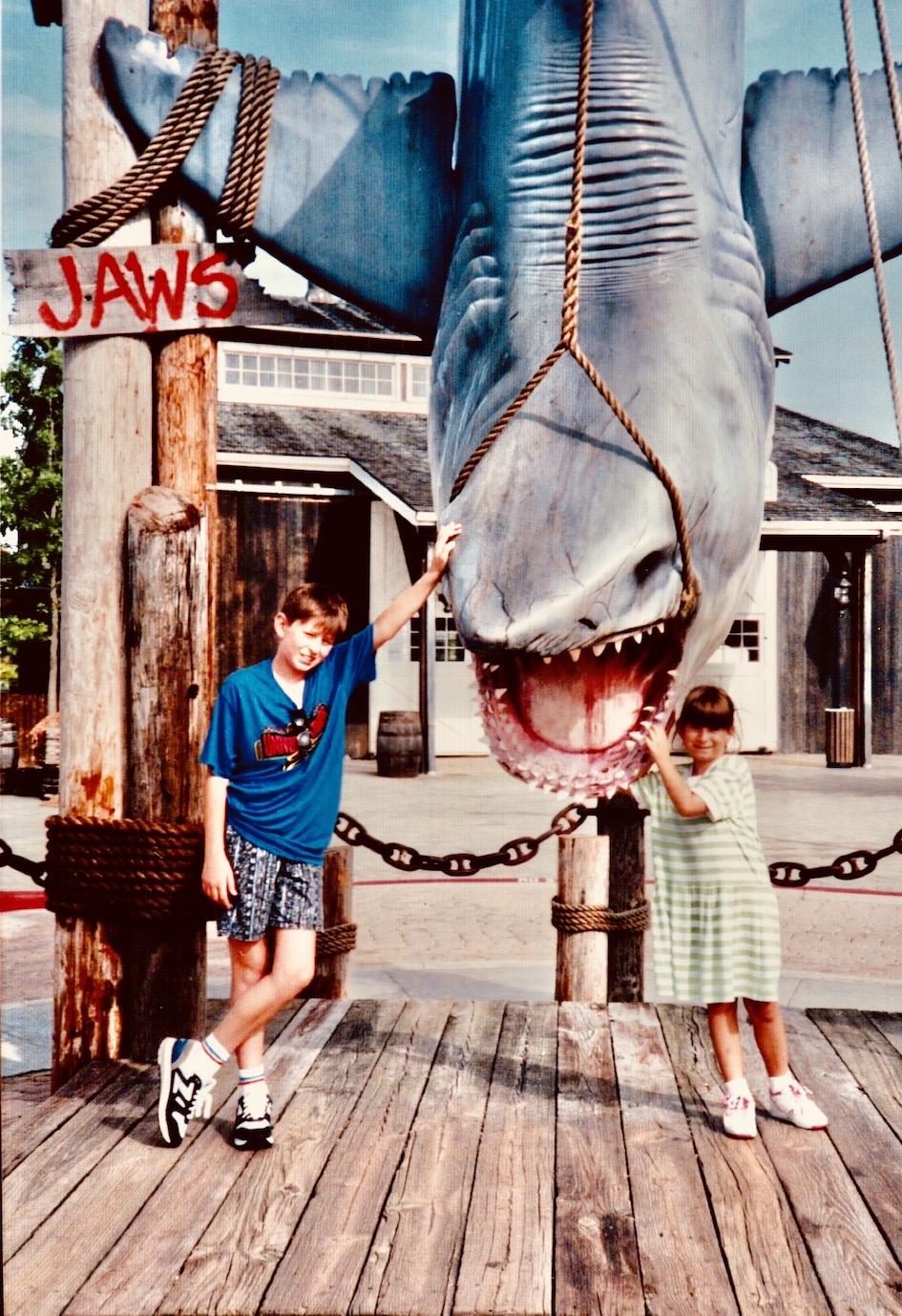 Jaws The Ride Universal Studios Florida 1991