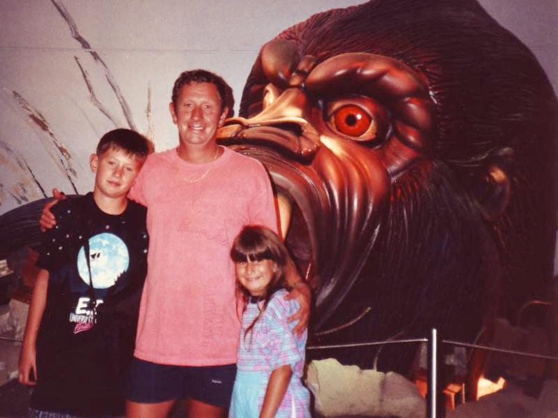 King Kong Encounter Universal Studios Florida 1989