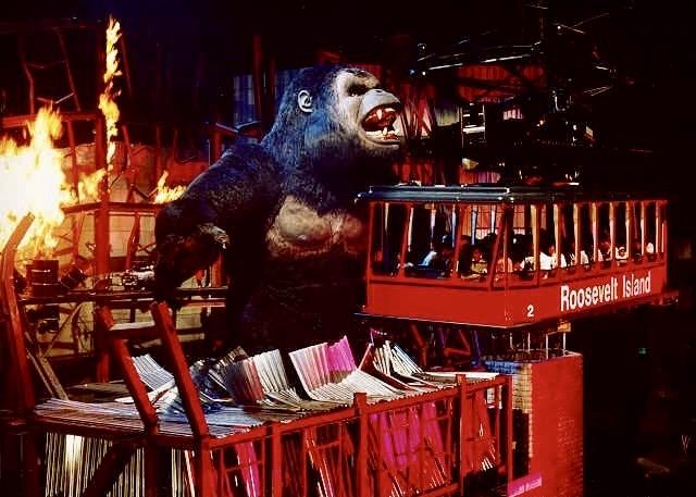 Kongfrontation ride Disney World.