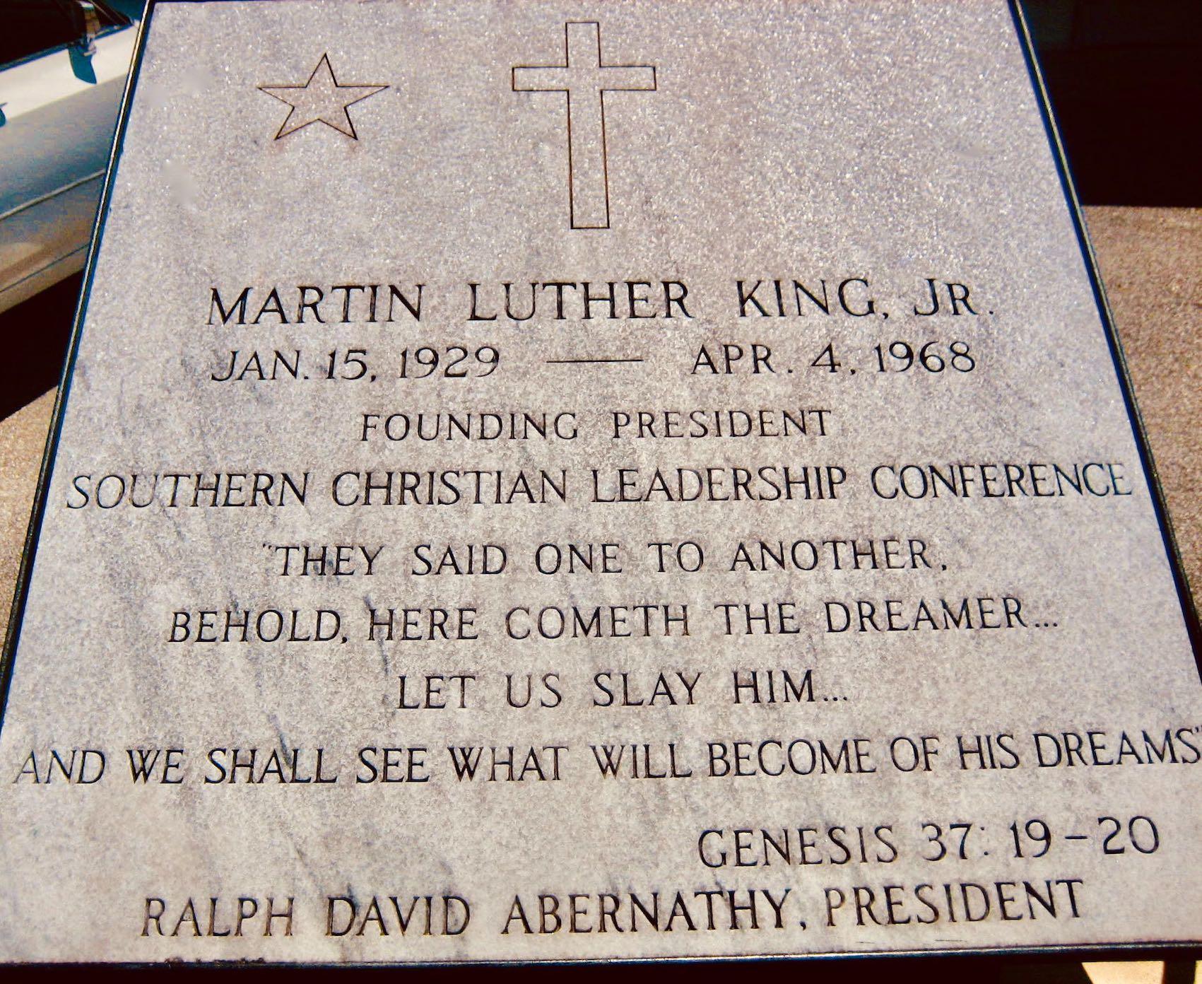 Martin Luther King Memorial Memphis