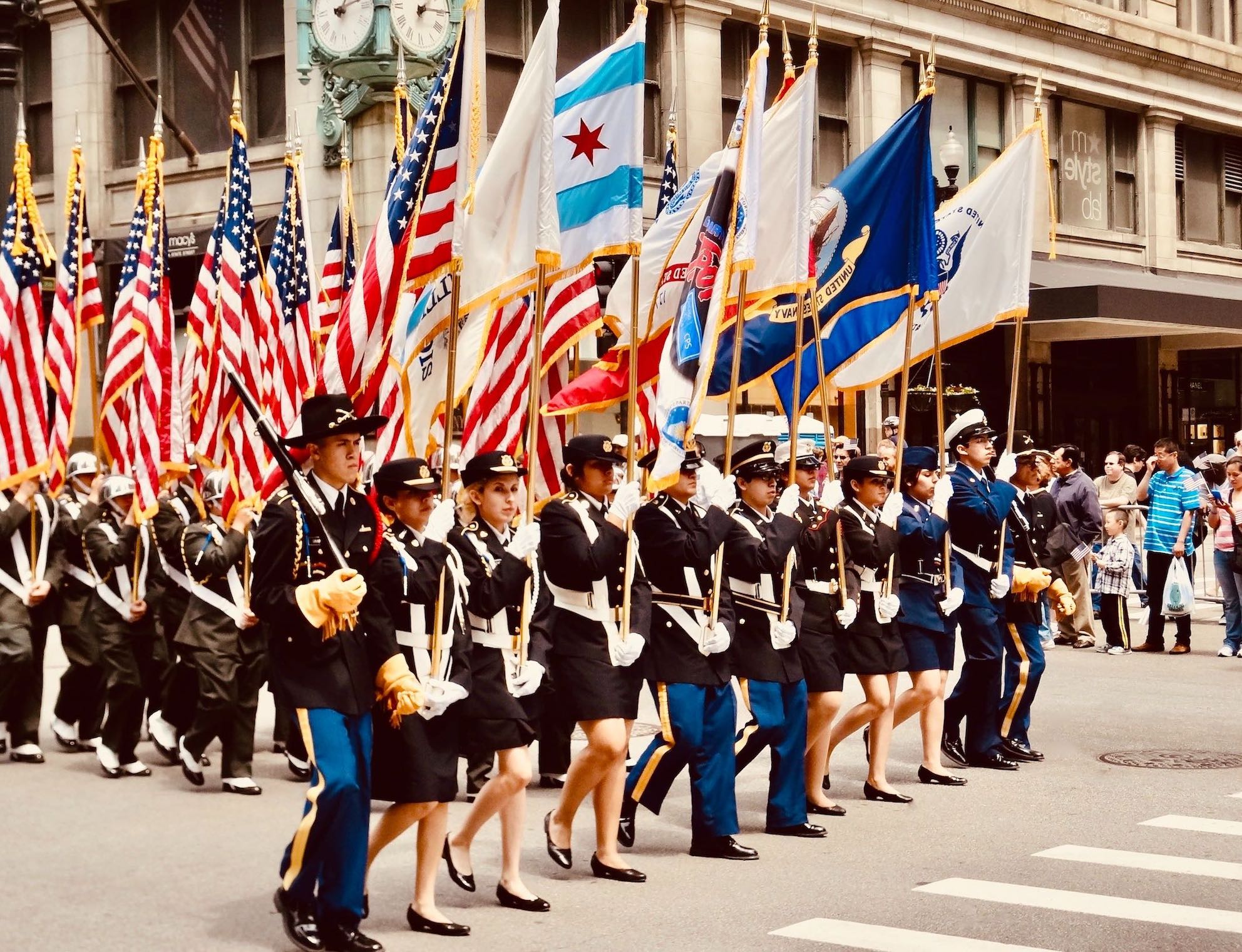 Memorial Day Parade State Street Chicago