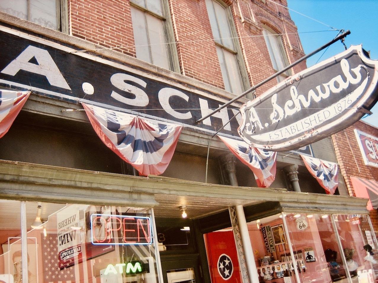 Memphis Nostalgia A. Schwab 1876.