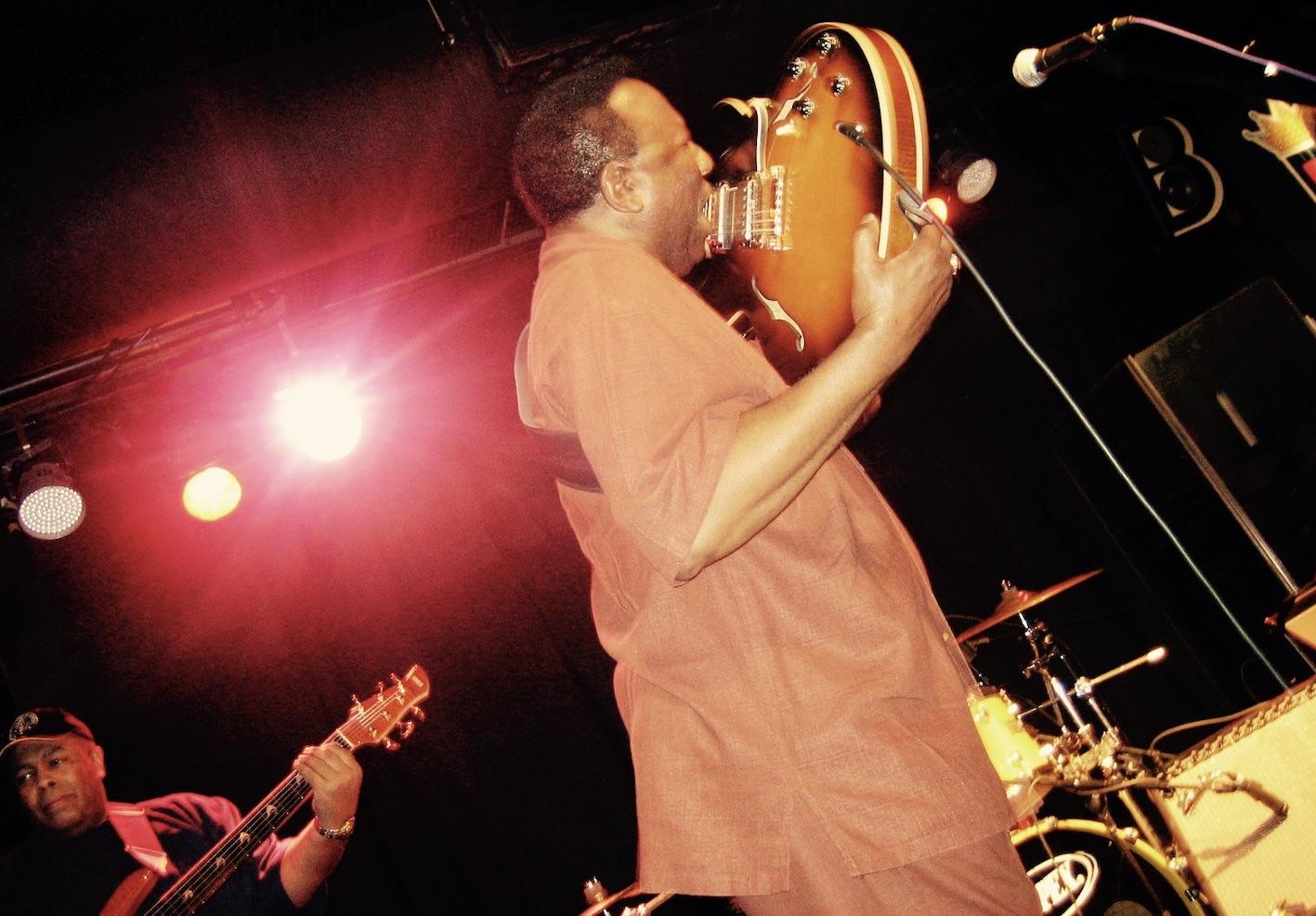 Memphis Nostalgia Preston Shannon live at B.B. King's