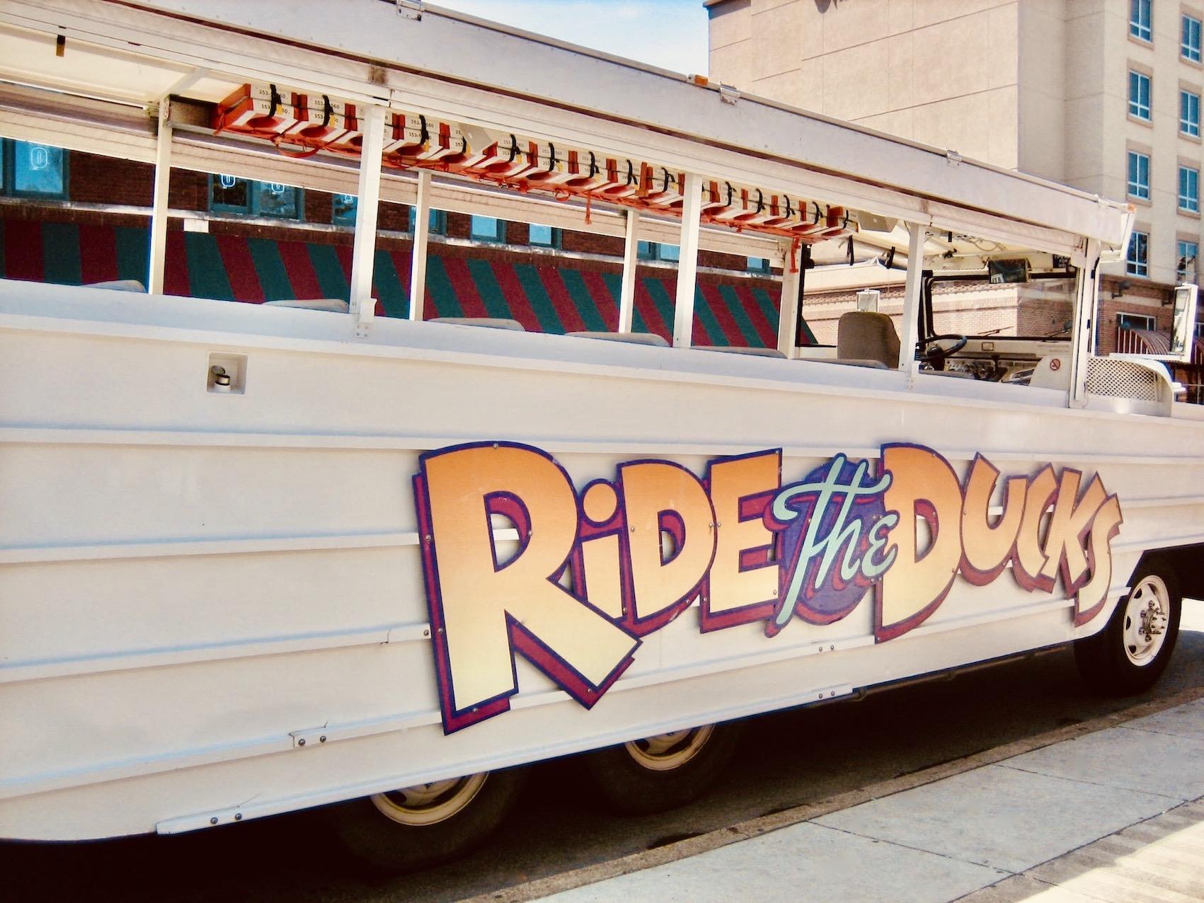 Memphis Nostalgia Ride the Ducks.