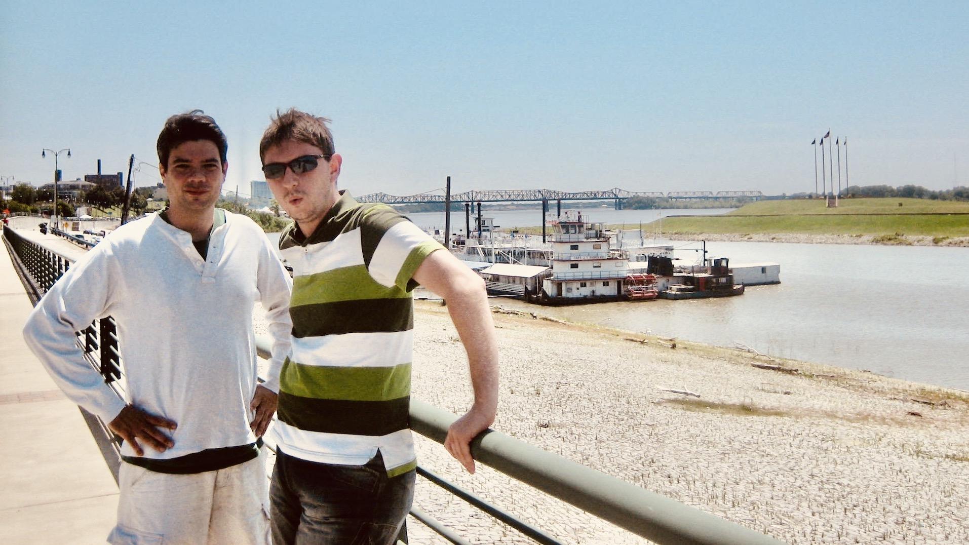 Memphis Nostalgia The Mississippi River.