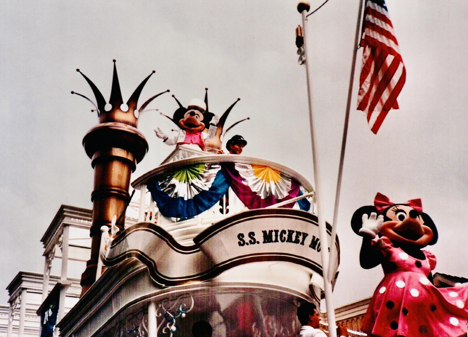 Mickey Mouse Birthday Parade Disney World 1989
