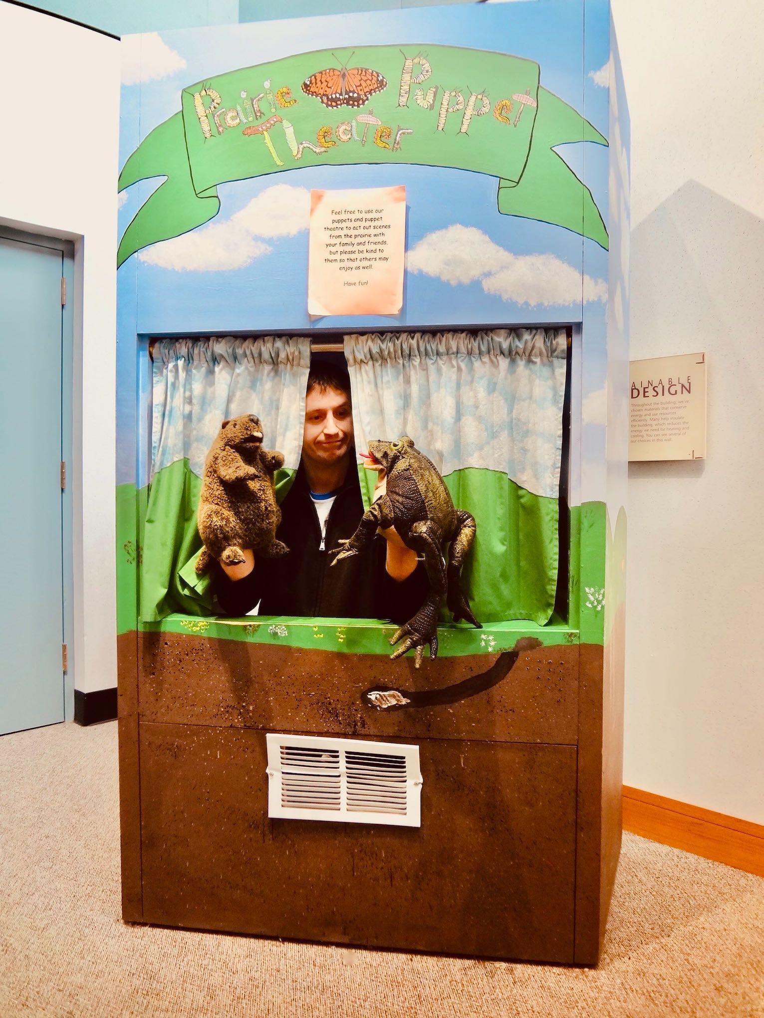 Prairie Puppet Theater Neal Smith Wildlife Refuge