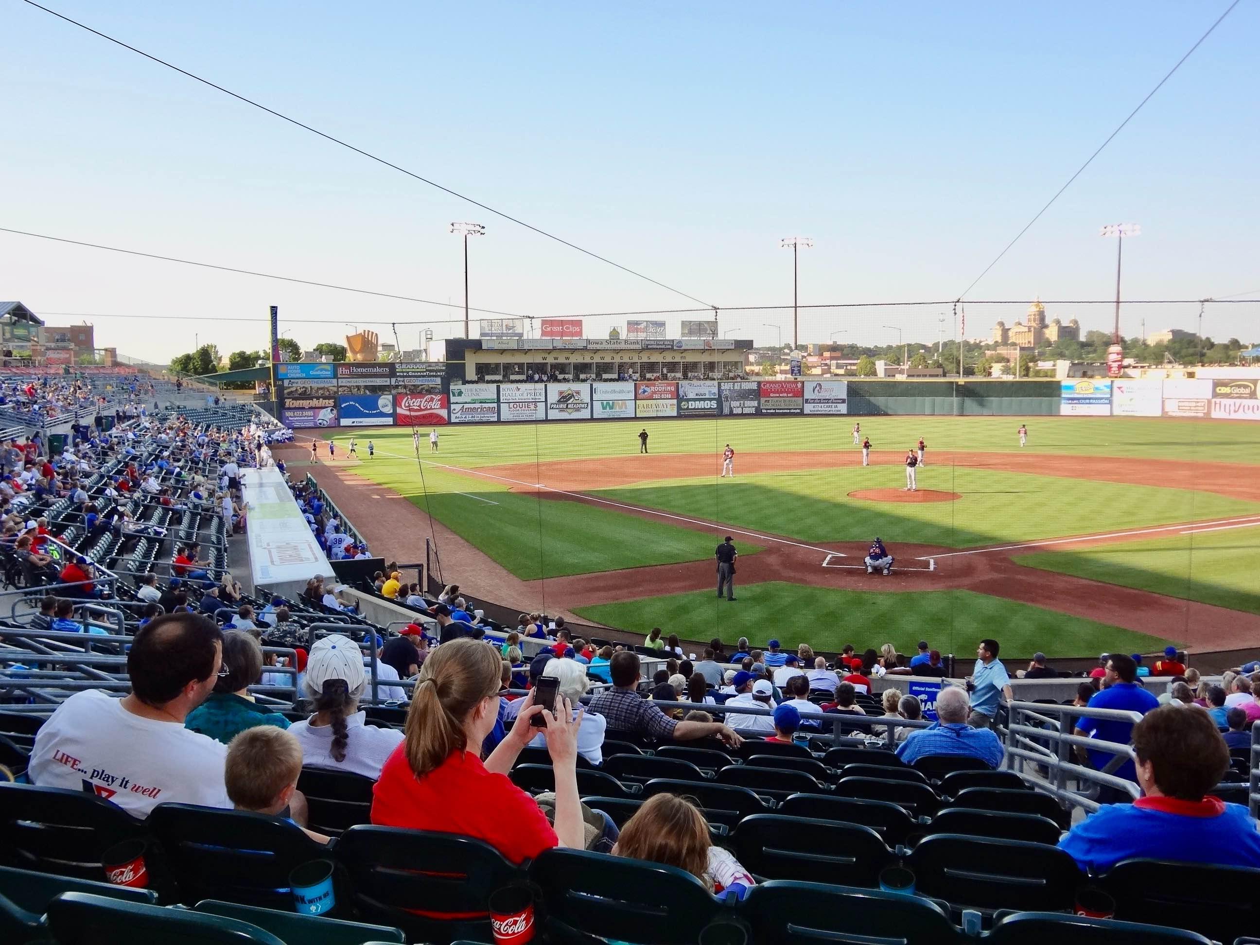 Principal Park Baseball Stadium Des Moines Iowa