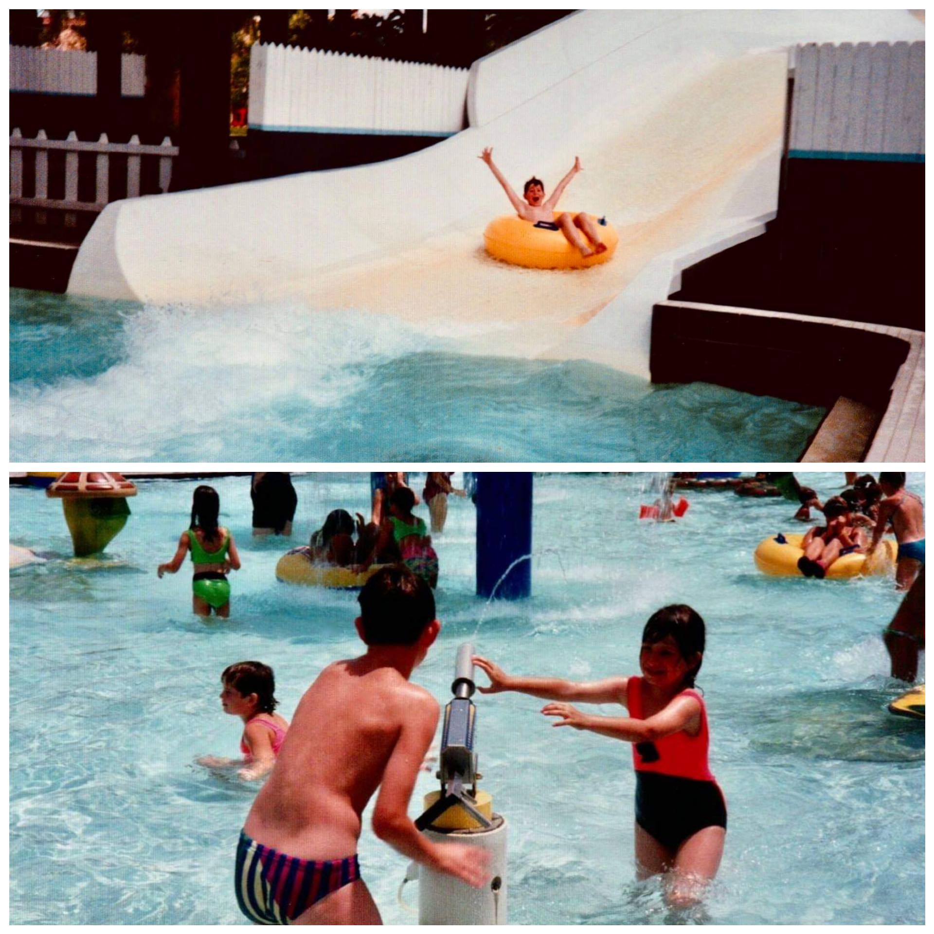 Retro Florida Water Mania in 1991.