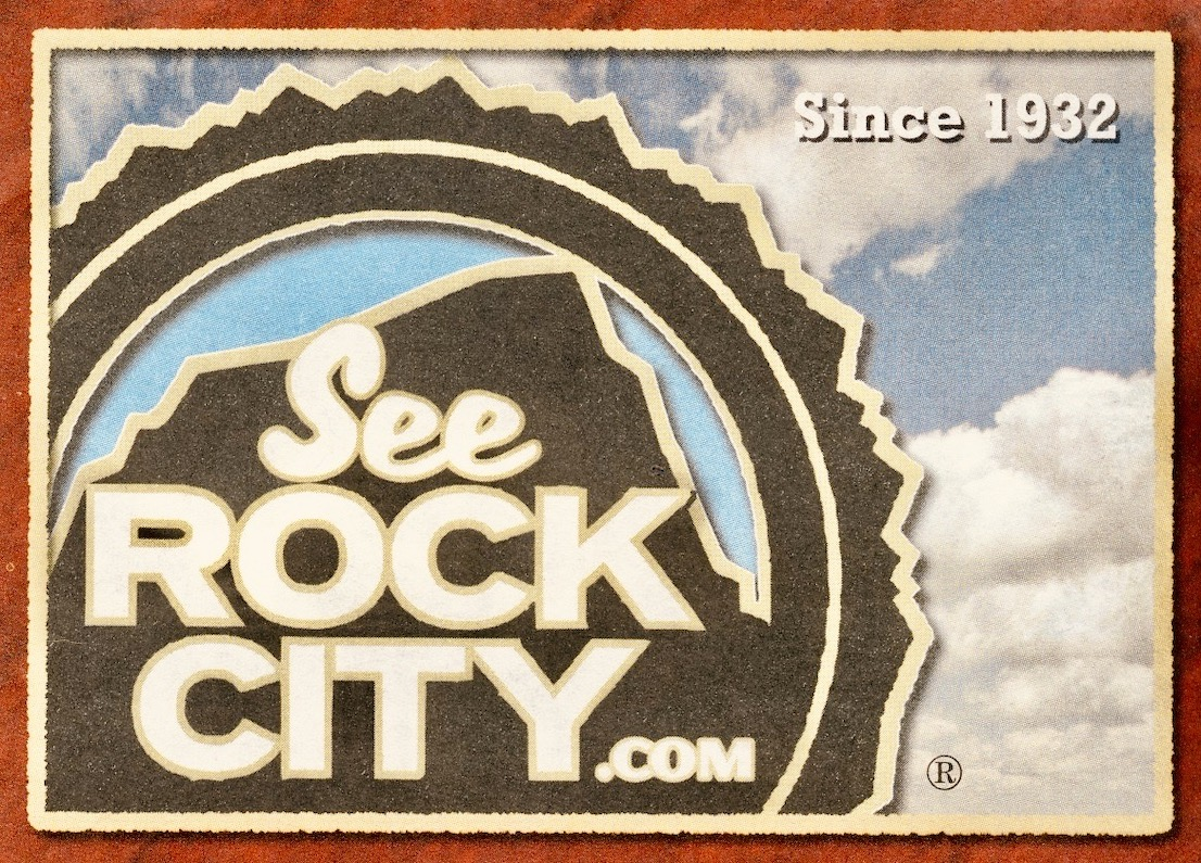 Rock City in Chattanooga.