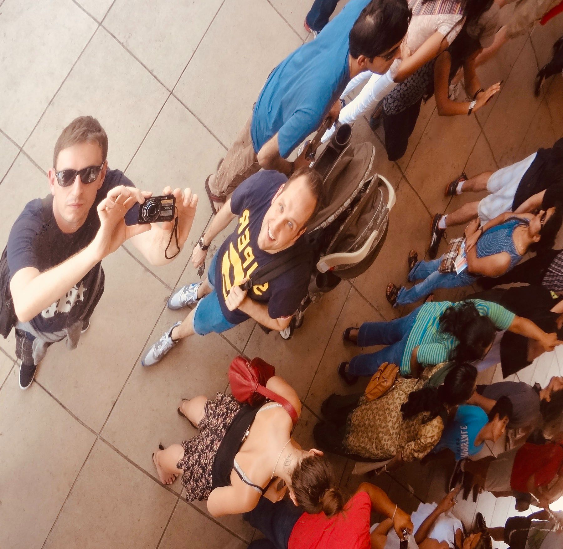Selfie at The Bean in Chicago.