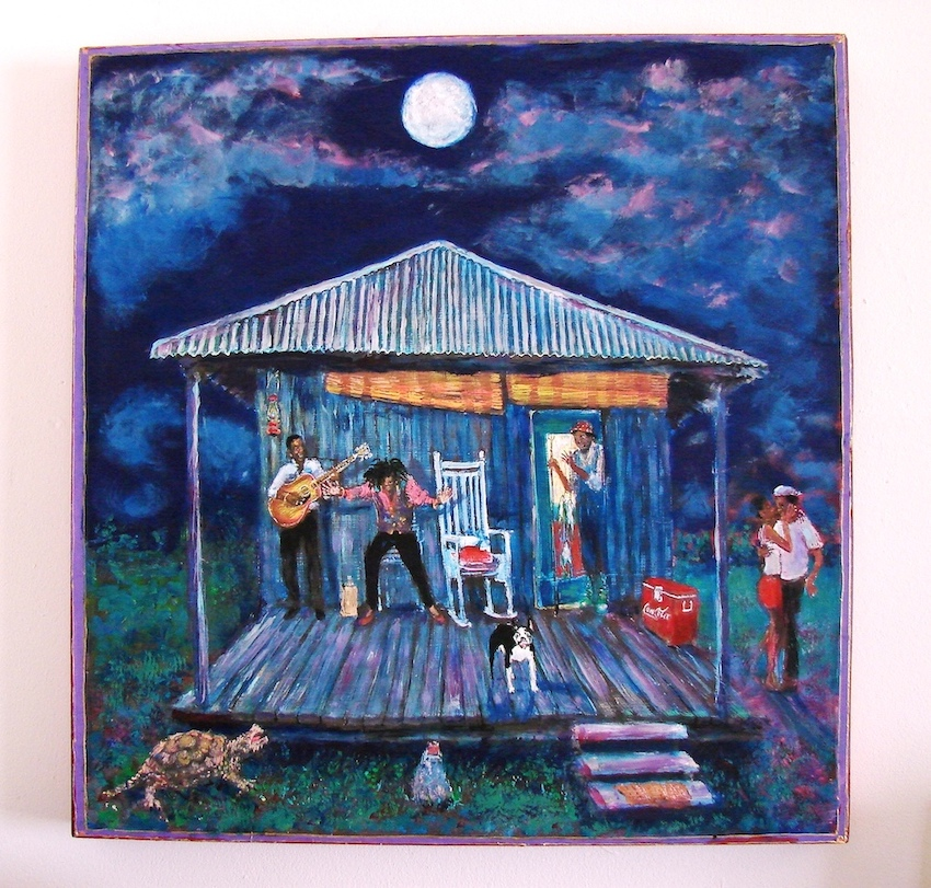 Stephen Hudson Memphis artist.