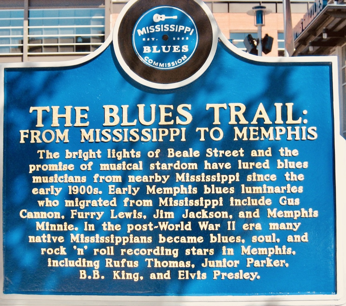 The Blues Trail from Mississippi to Memphis
