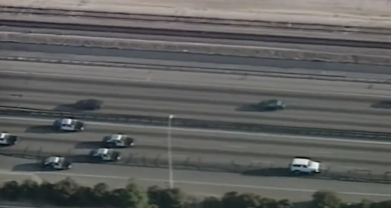 The O.J. Simpson Car Chase 1994.