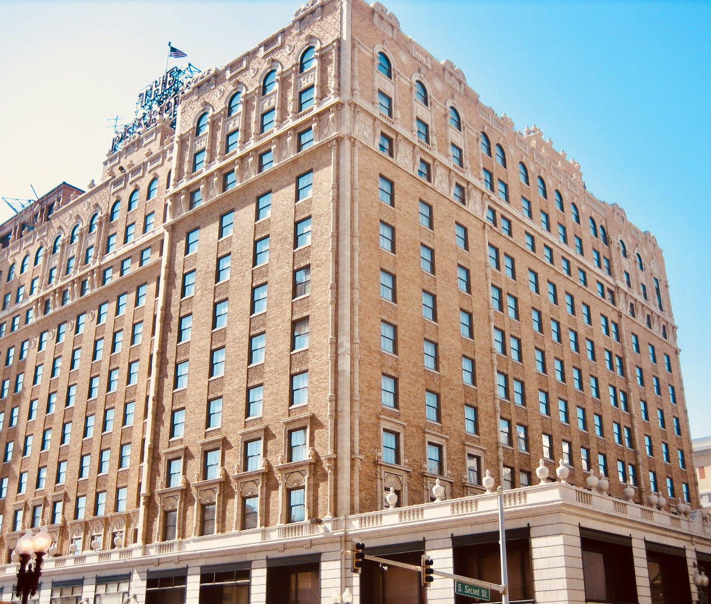 The Peabody Hotel in Memphis.