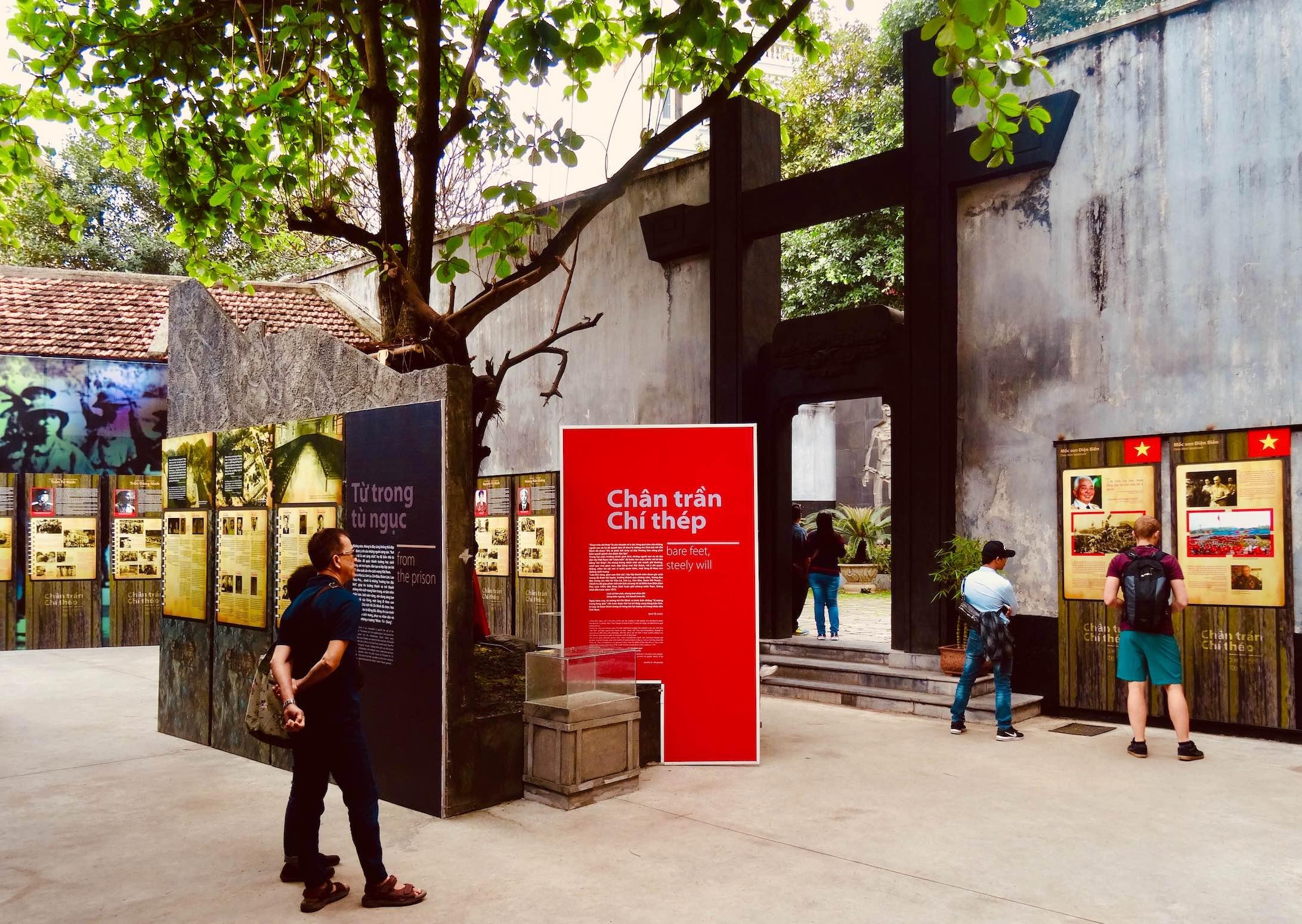 Bare Feet Steely Will Exhibition in Hanoi