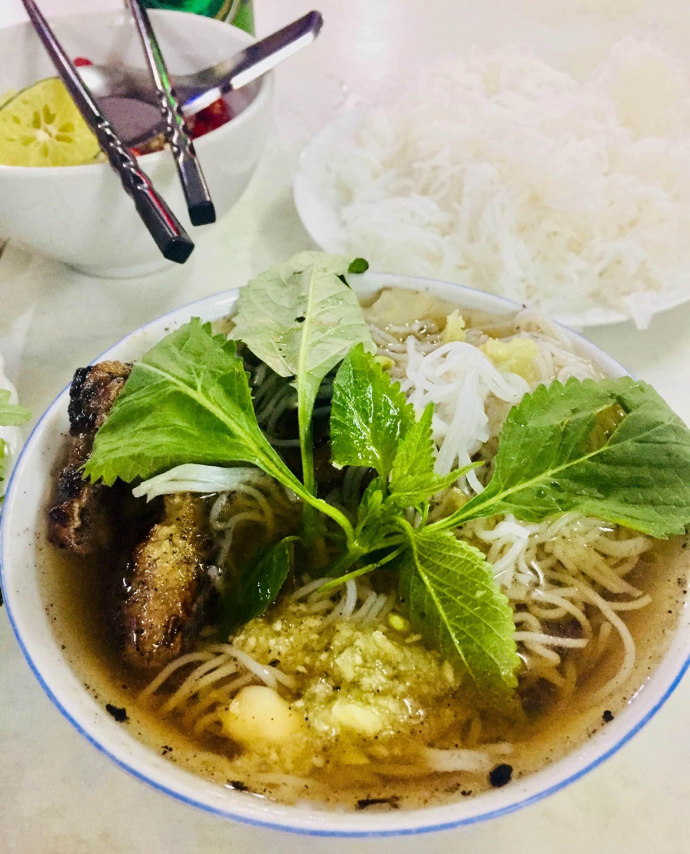Best Bun Cha in Hanoi.