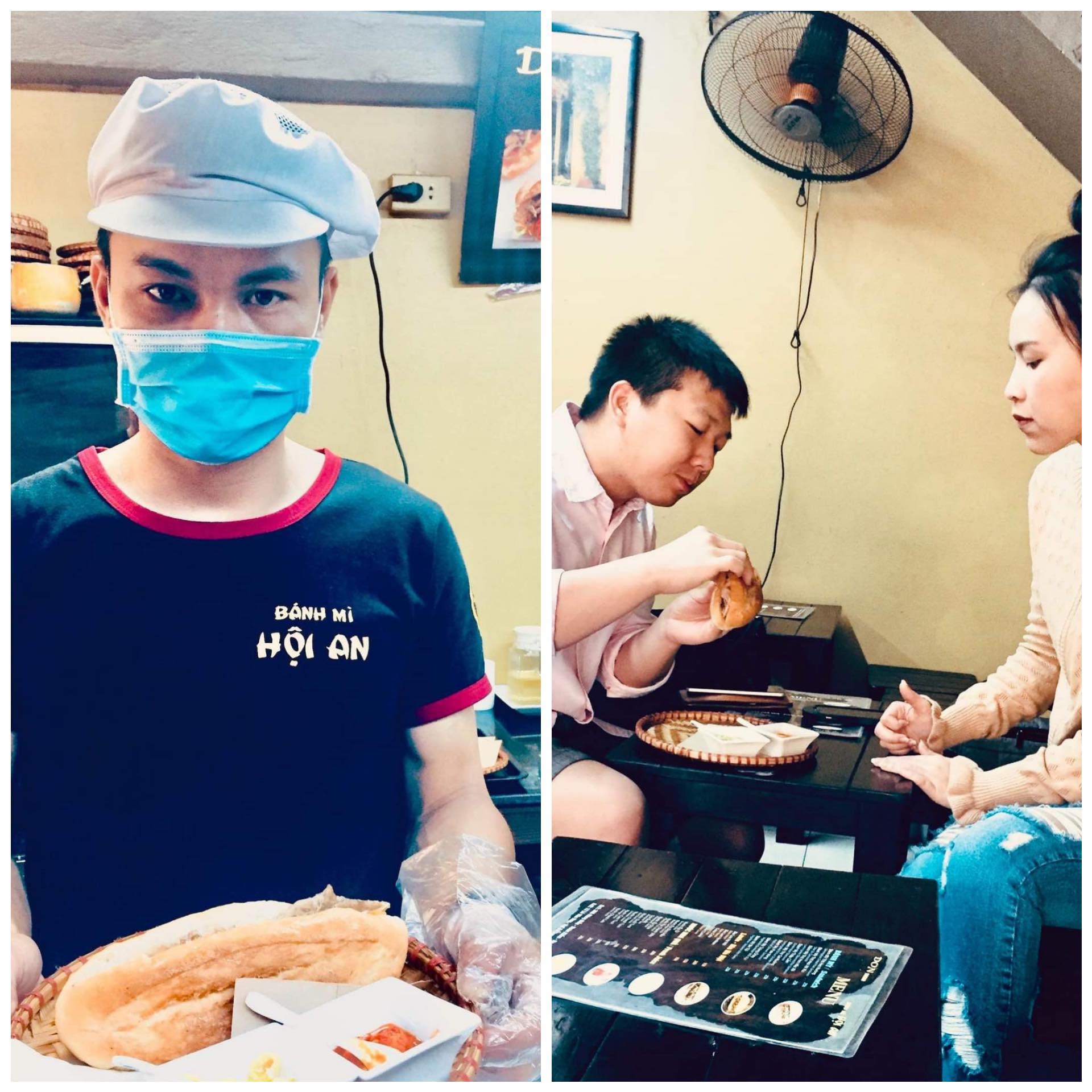 Don Bread Banh Mi Hanoi Vietnam.