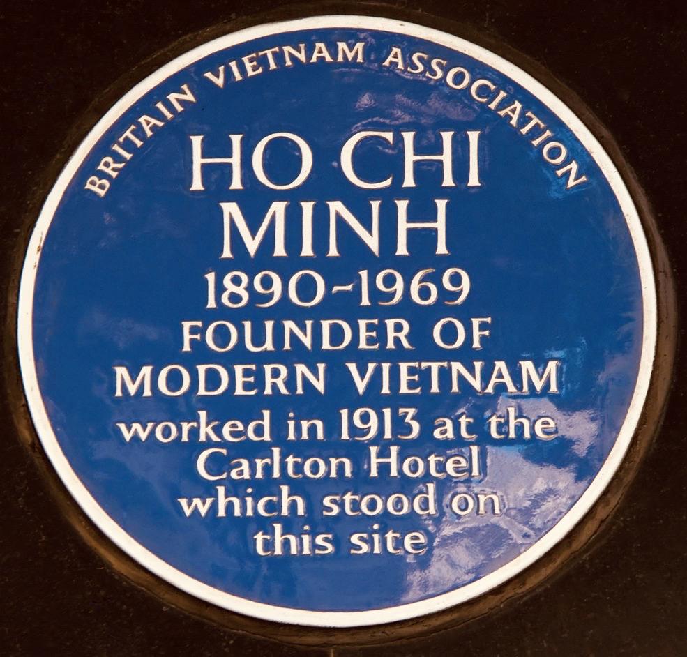 Ho Chi Minh Carlton Hotel London.