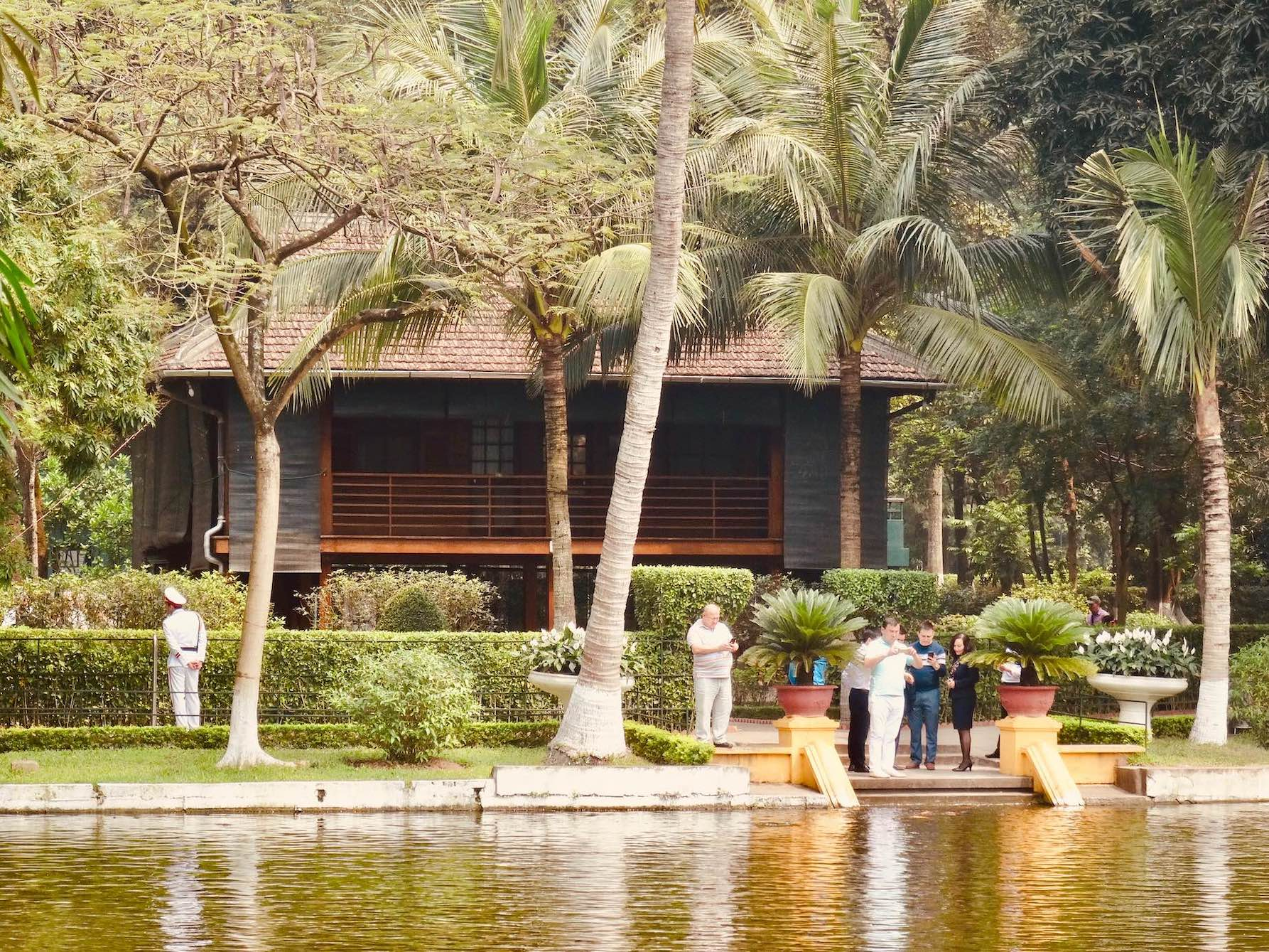 Ho Chi Minh's Stilt House Hanoi.