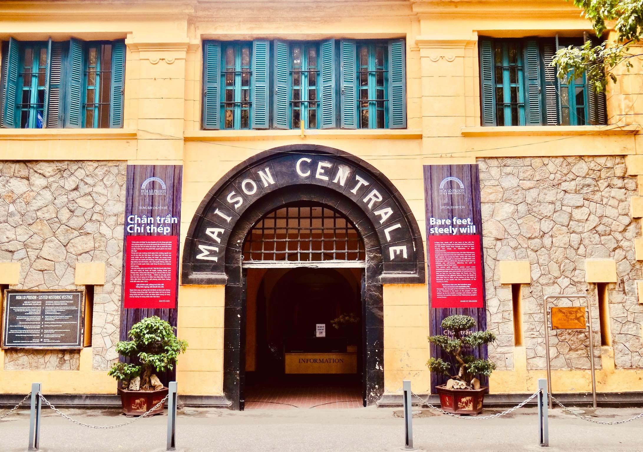 Hoa Lo Prison Hanoi.