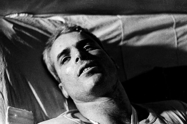 John McCain Hoa Lo Prison Hanoi.