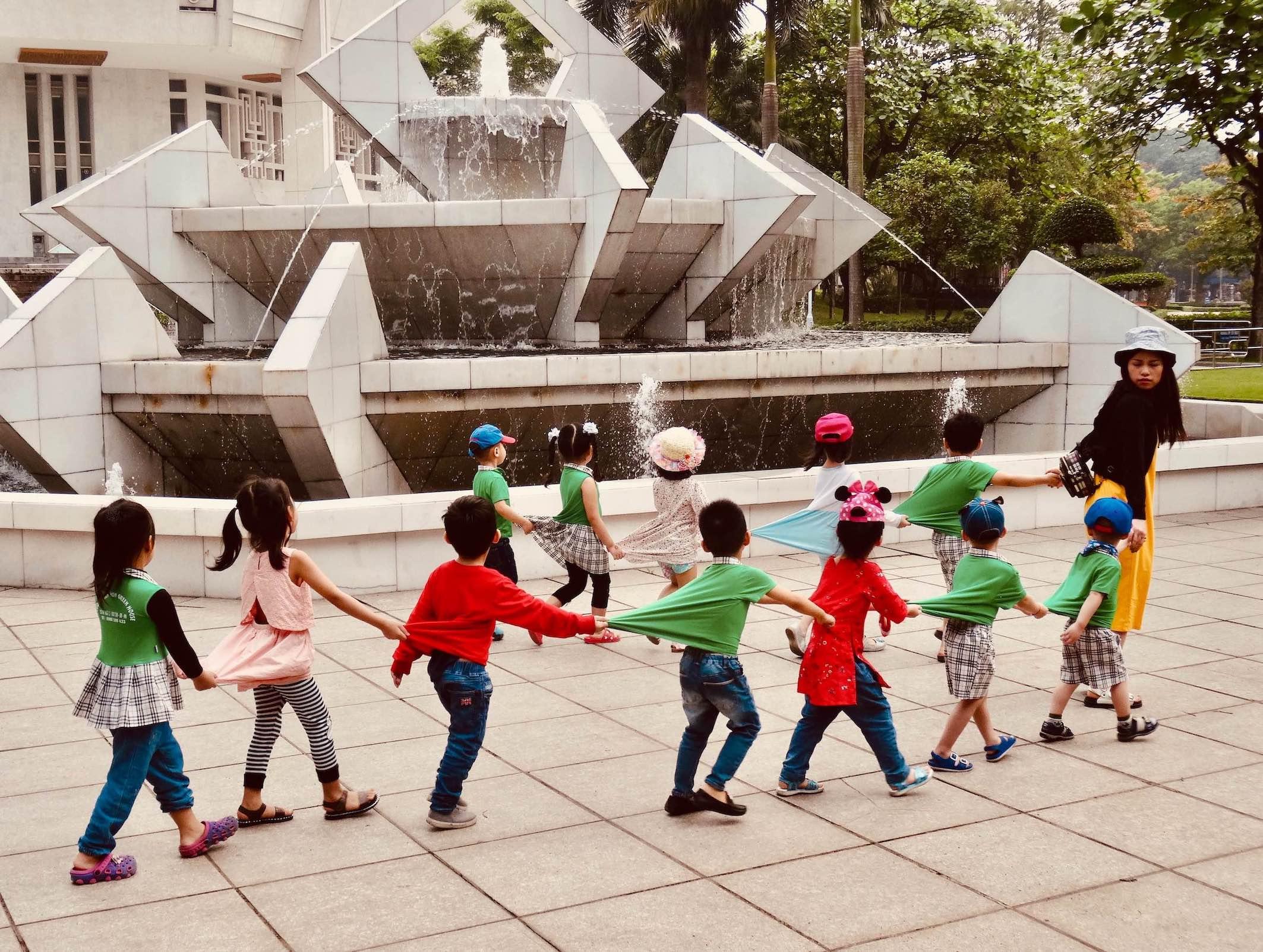 Local school group Hanoi