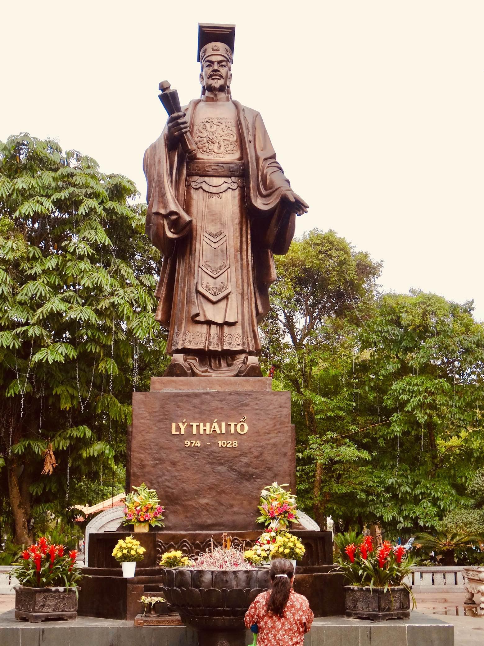 Ly Thai To Monument Hanoi.