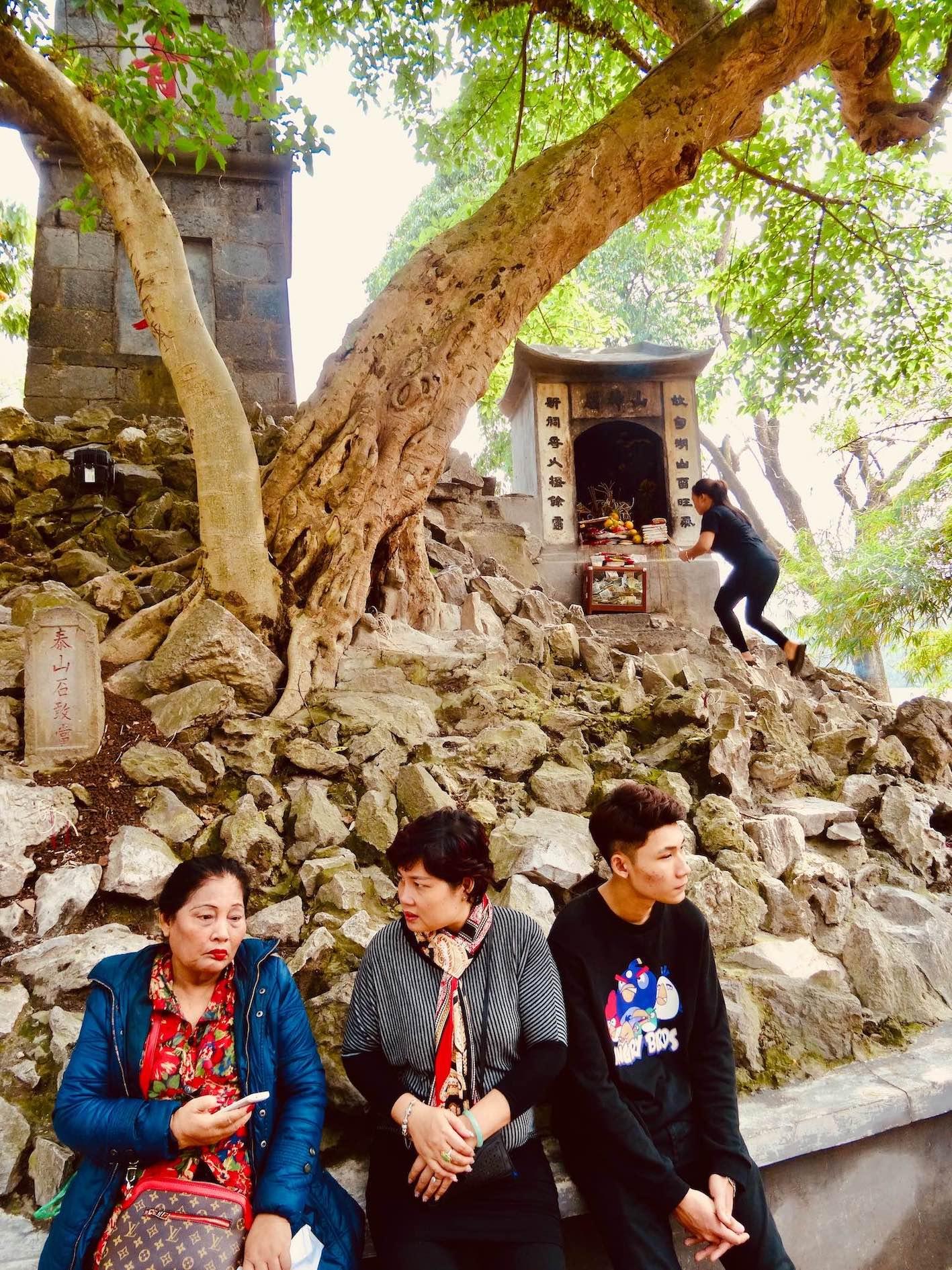 Ngoc Son Temple Hoan Kiem Lake Hanoi