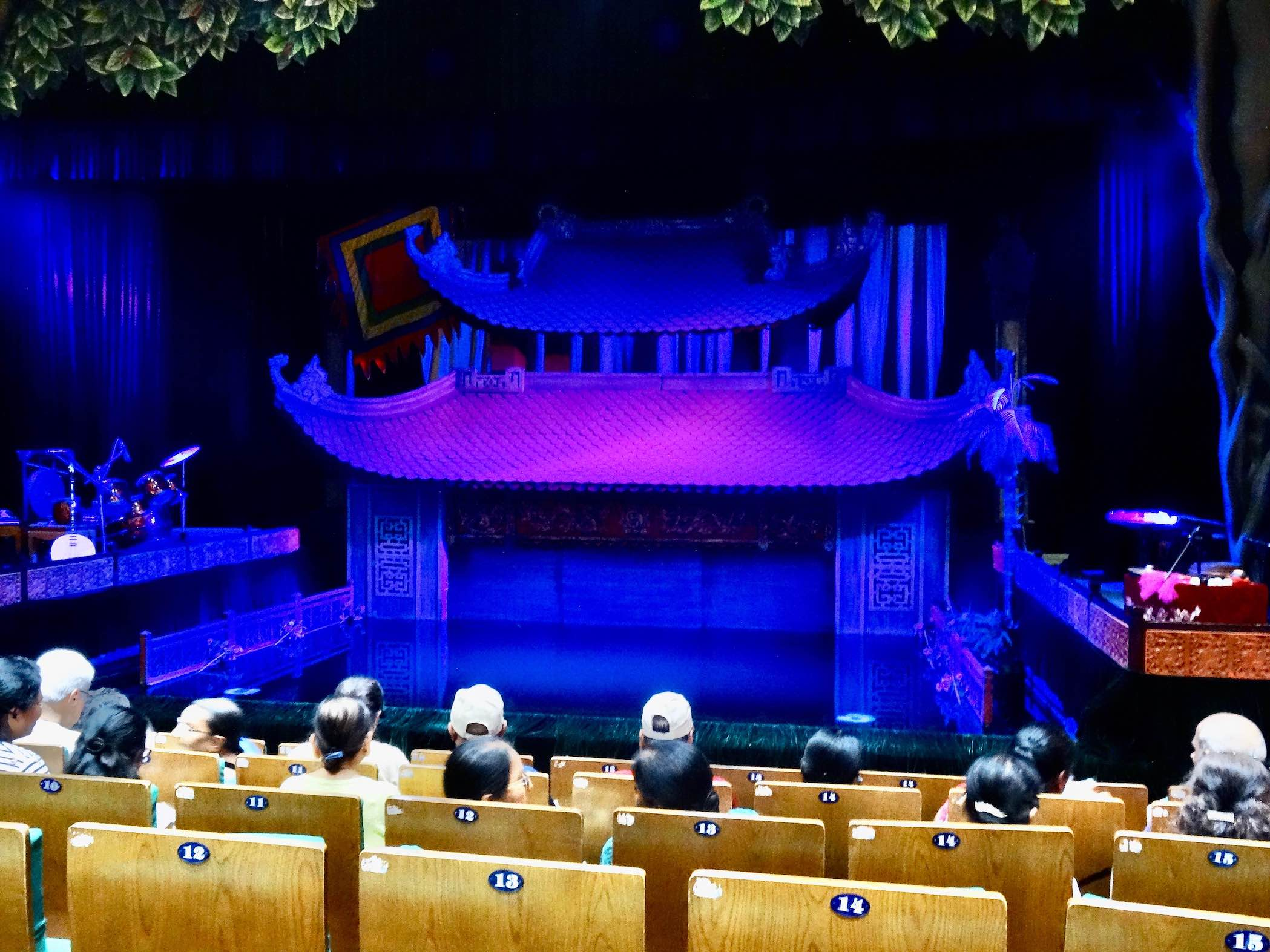 Performance stage Thang Long Water Puppet Theatre